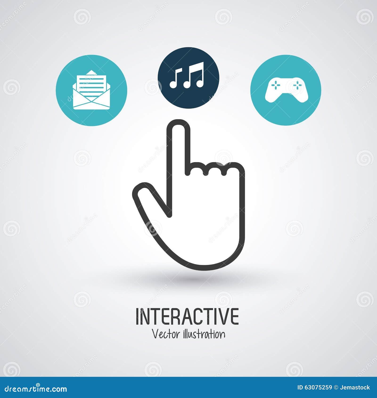 Download Conception Interactive De Technologie Illustration de Vecteur - Illustration du écran, affaires: 63075259