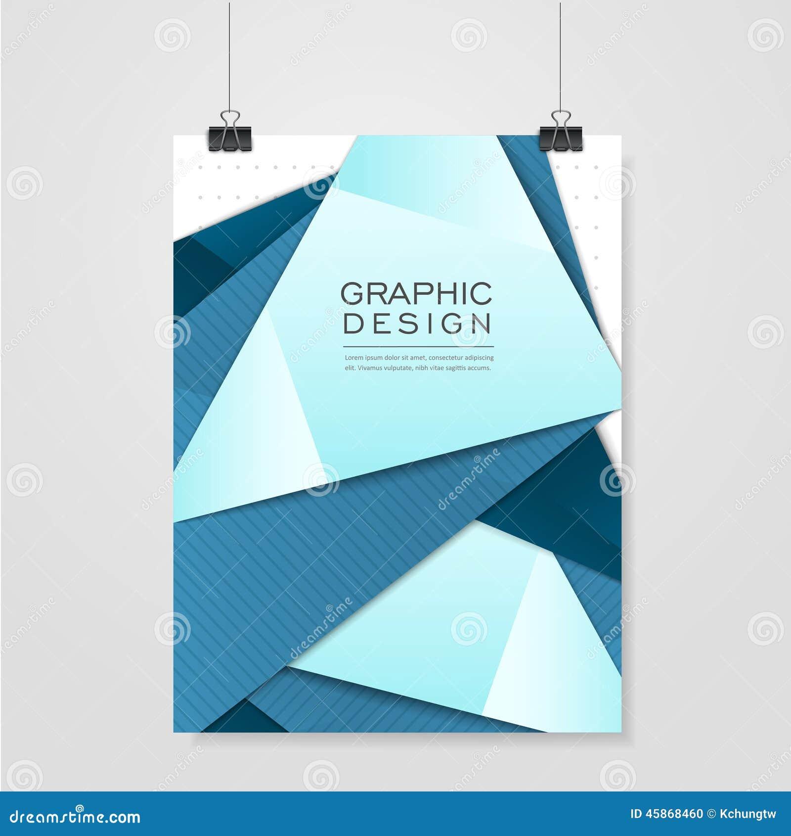 conception moderne de style d 39 origami pour le calibre d 39 affiche illustration de vecteur image. Black Bedroom Furniture Sets. Home Design Ideas