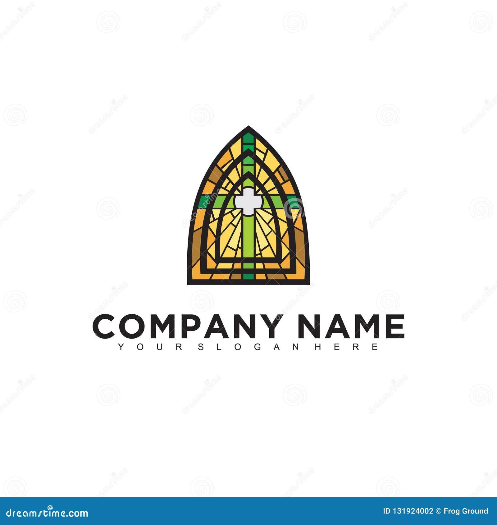 Conception professionnelle moderne minimalistic simple de logo de calibre d illustrateur de la religion ENV