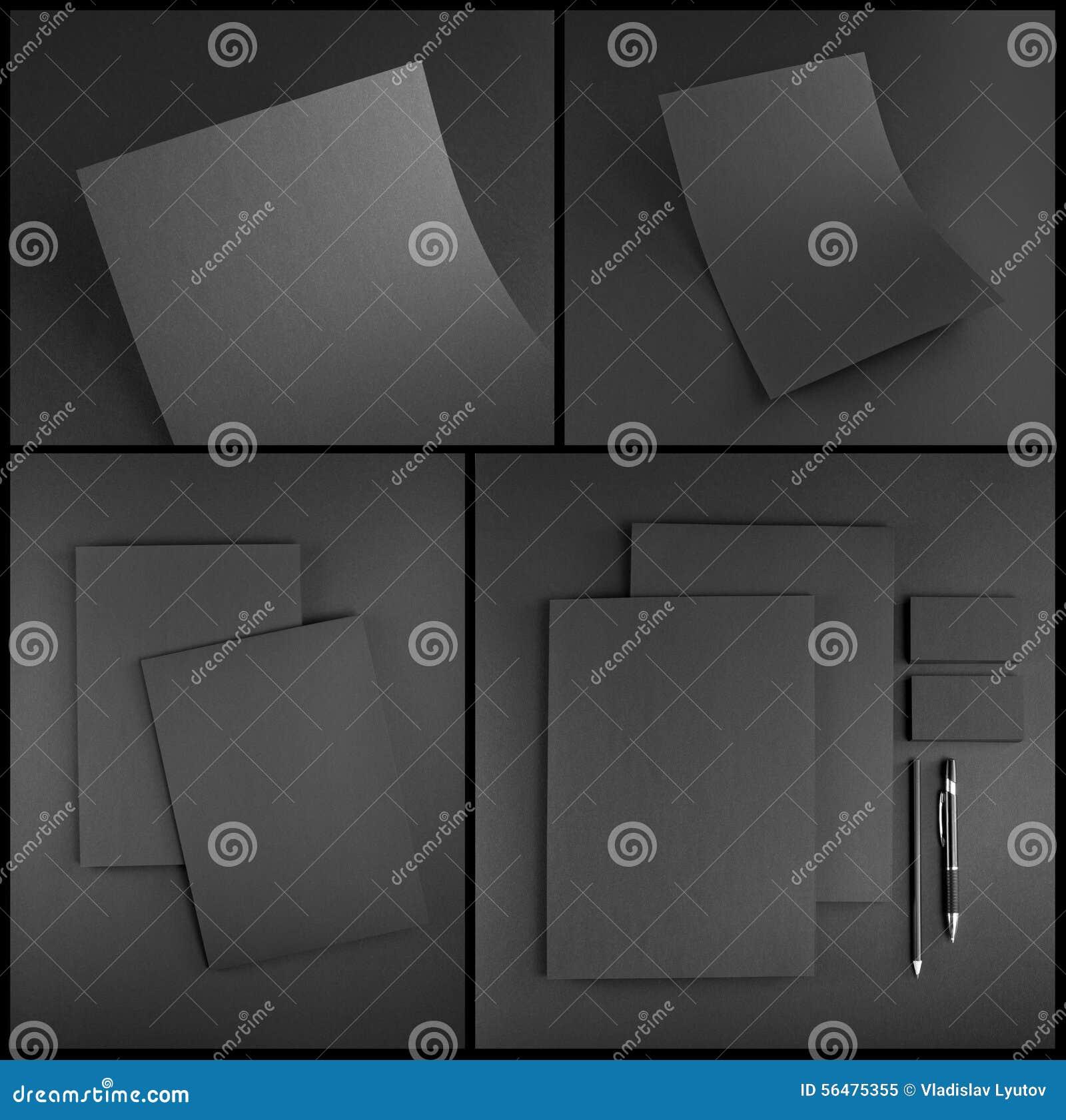Conception réglée de papeterie Calibre de papeterie Template de corporation pour des dessin-modèles d affaires