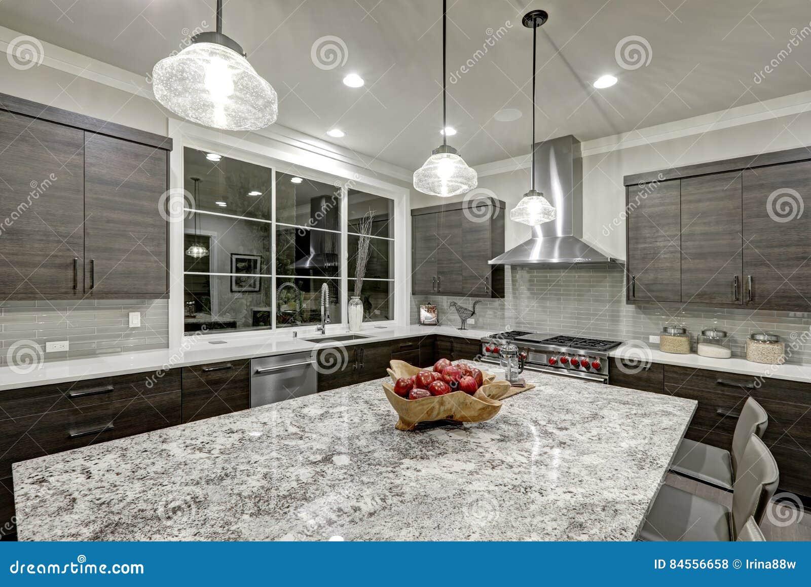 Conception traditionnelle moderne de cuisine dans la for Conception maison moderne