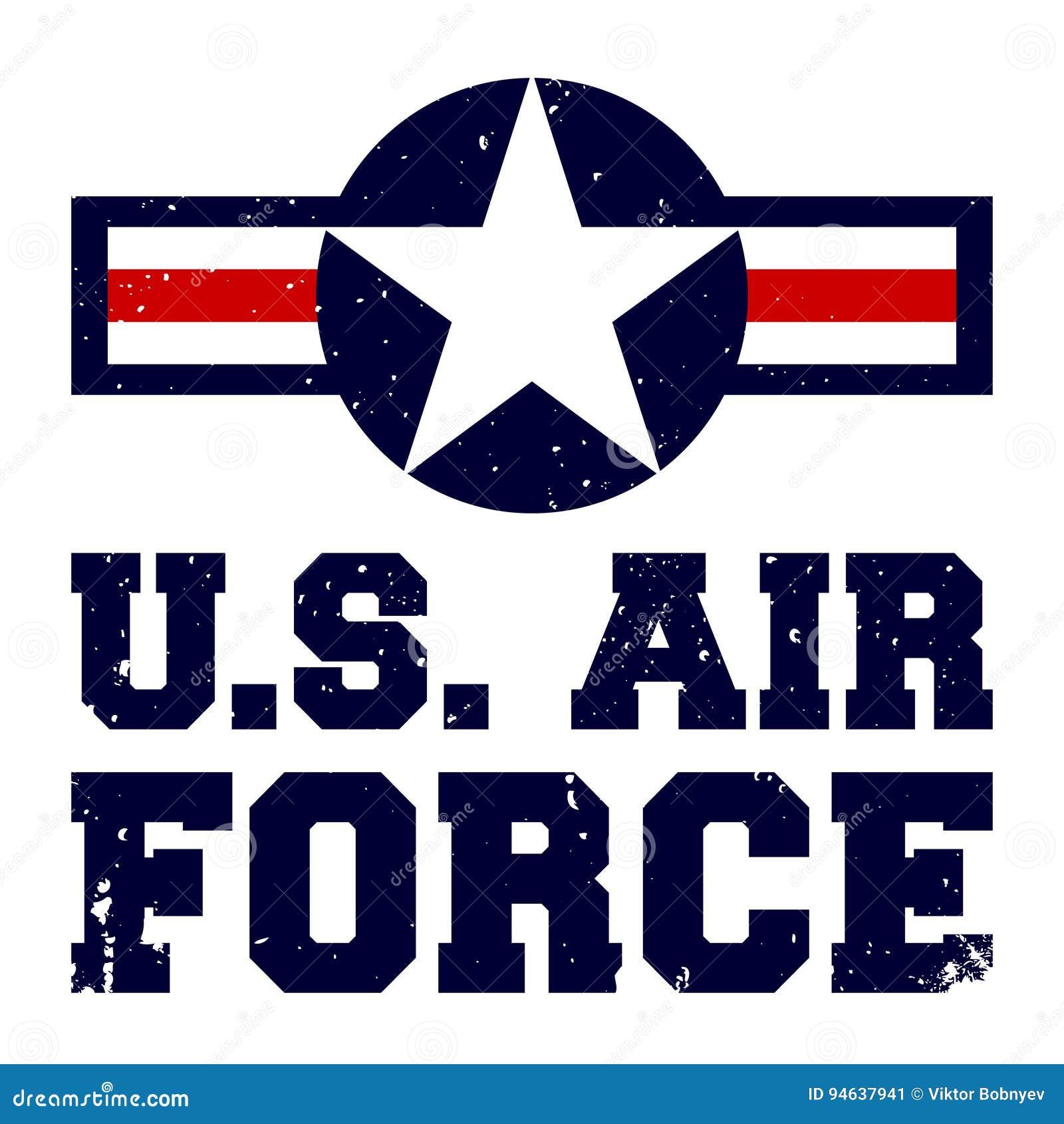 Conception U d impression de T-shirt S l Armée de l Air