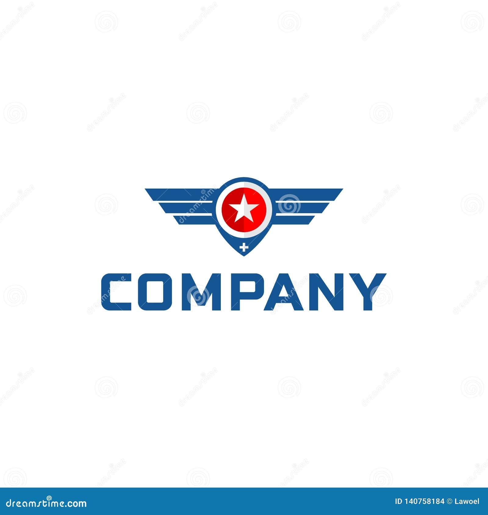 Conceptions d inspirations de logo d ailes
