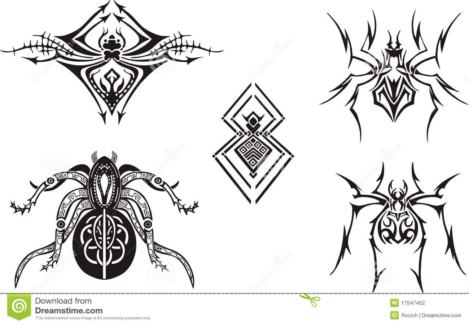Conceptions symétriques d araignée