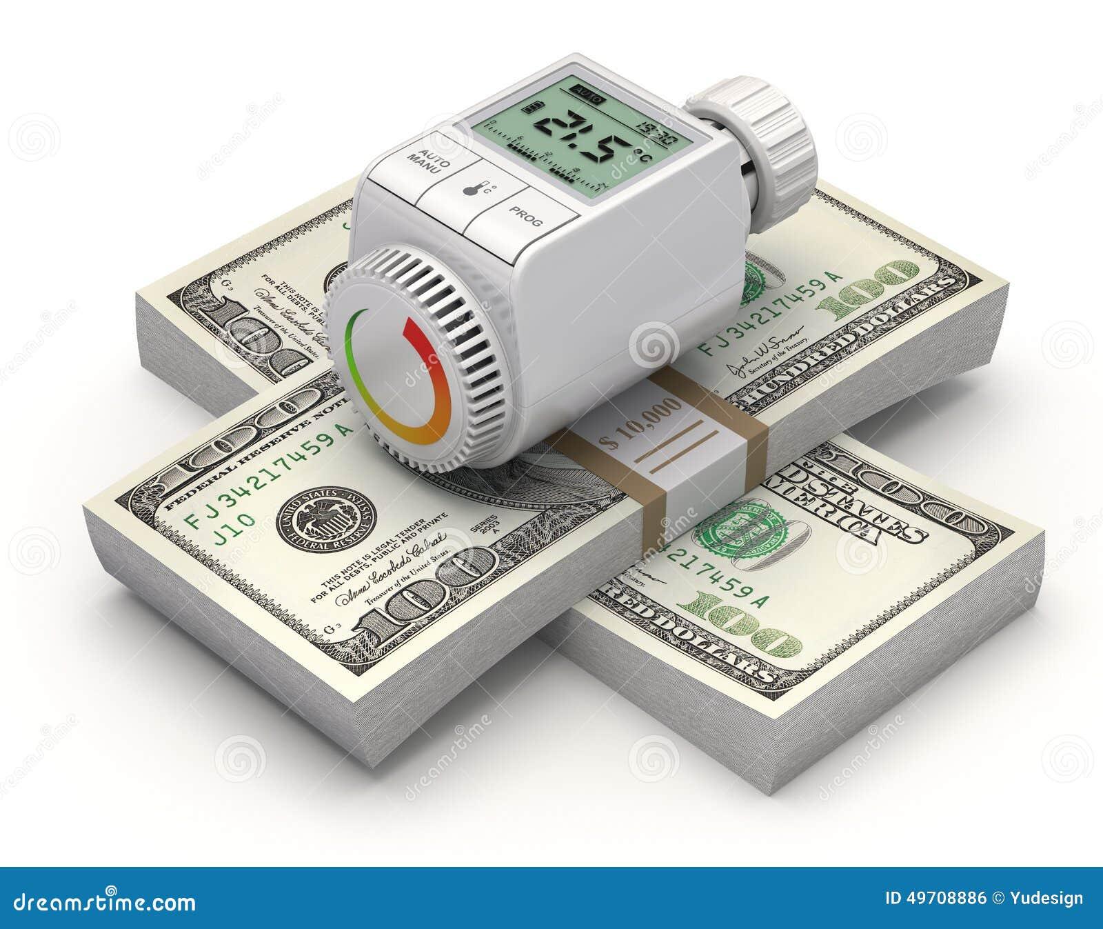 Concepto ahorro de energía