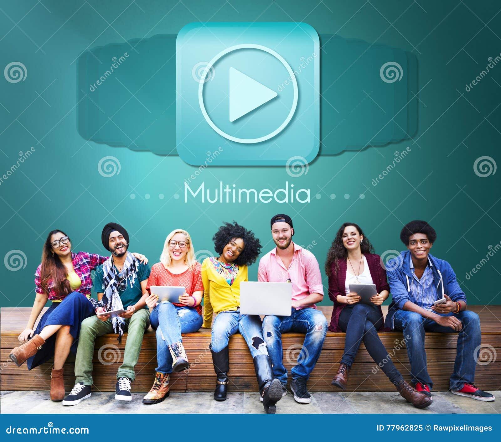 Concepto audio del entretenimiento de Digitaces del ordenador de las multimedias