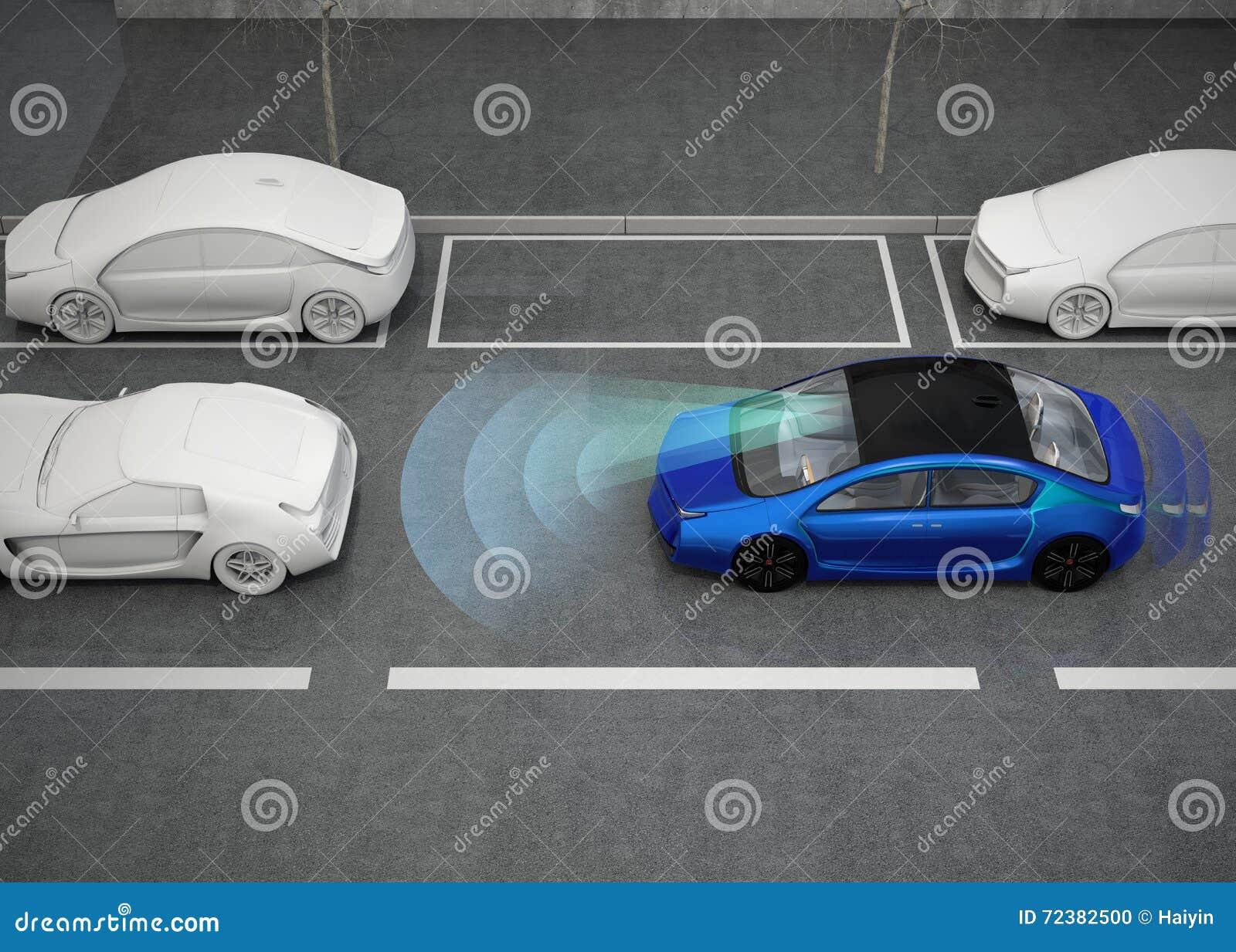 Concepto automático del sistema de frenos