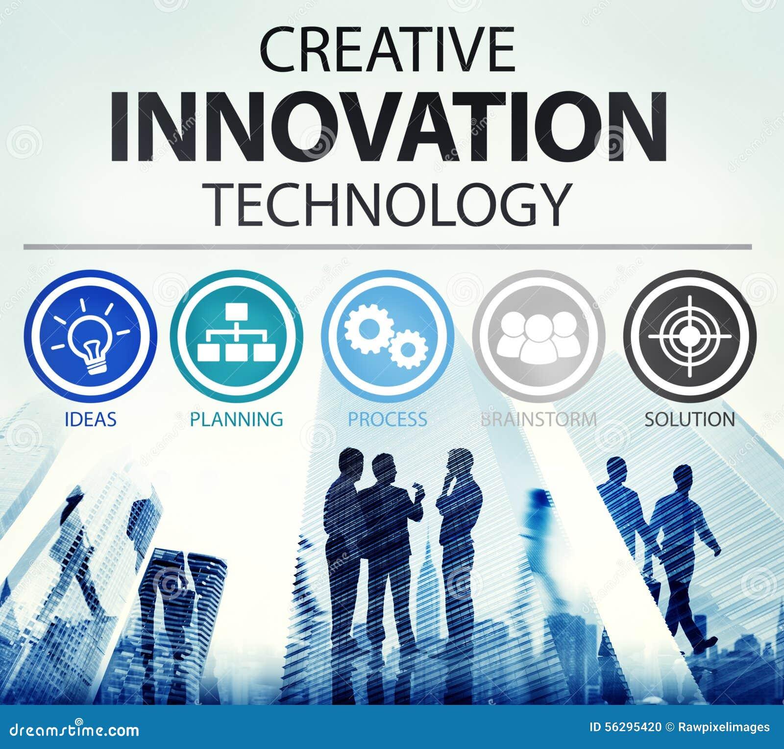 Concepto creativo de la inspiración de las ideas de la tecnología de la innovación