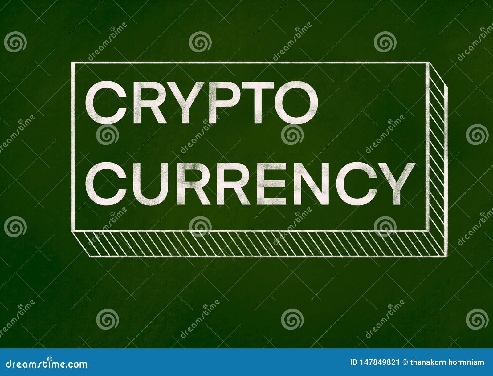 Concepto Crypto del fondo de la moneda