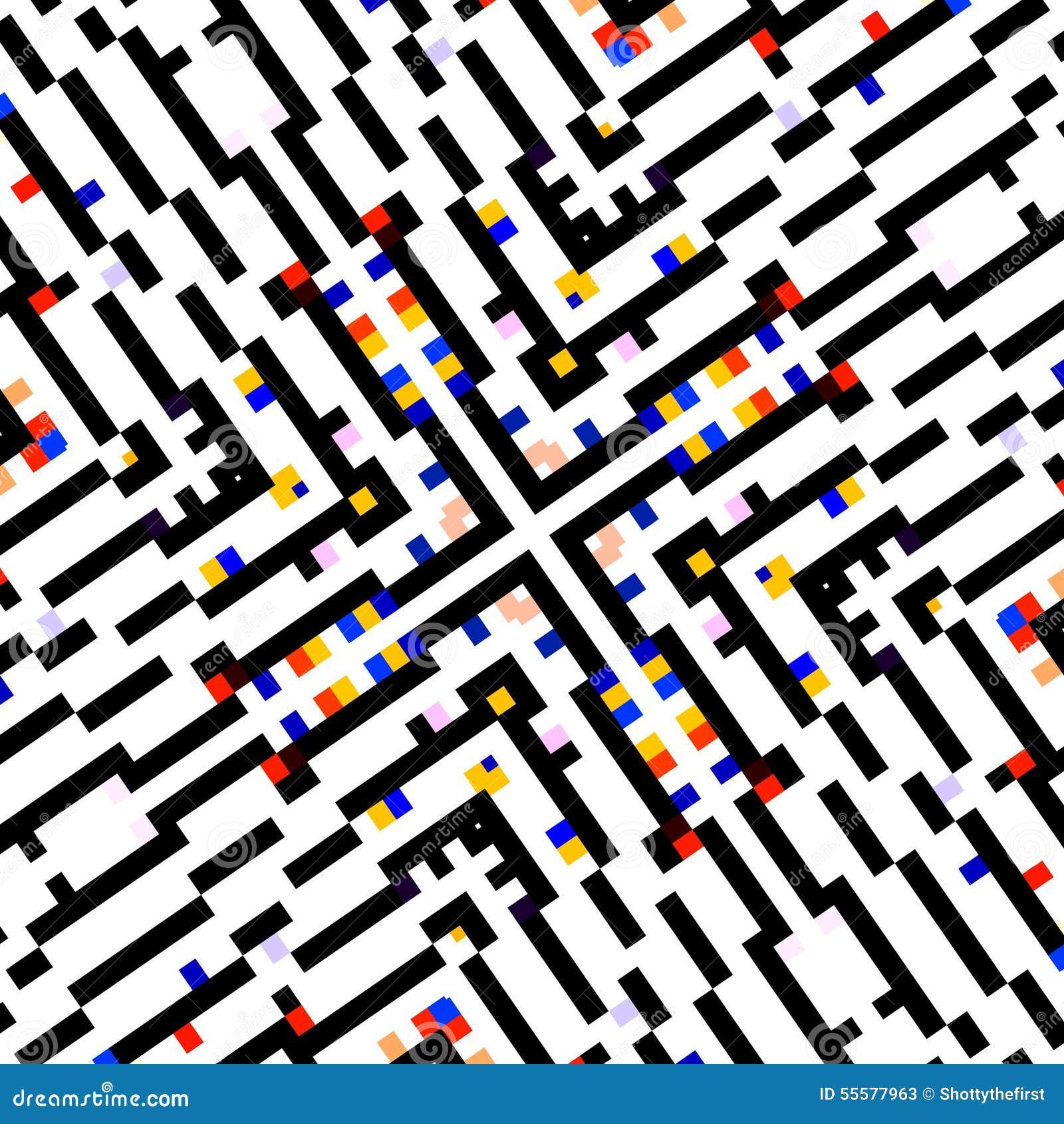 Concepto cuadrado creativo Exhibición de pantalla de ordenador Cartel abstracto del papel pintado del diseño del fondo Composició
