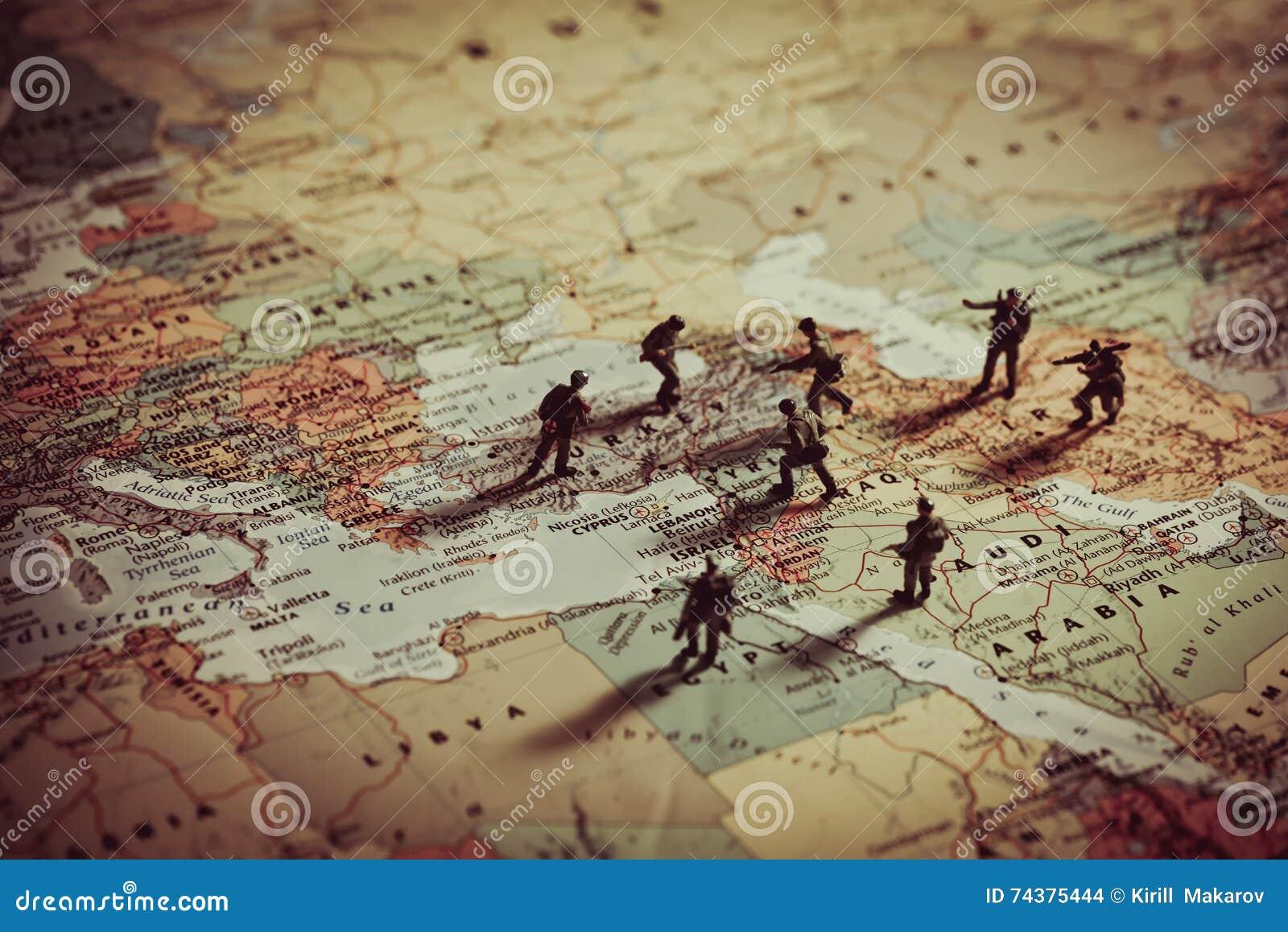 Concepto de agresión militar en Oriente Medio