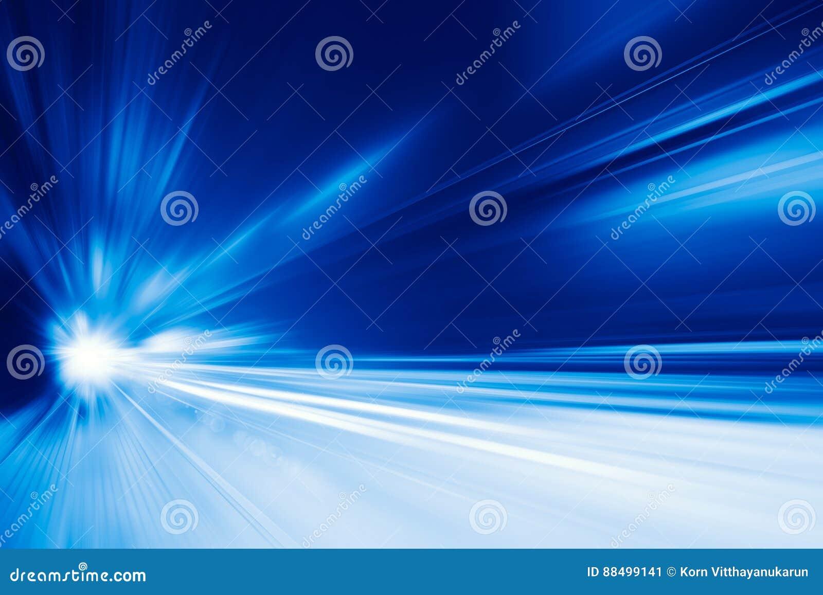 Concepto de alta velocidad del negocio y de la tecnología, falta de definición de movimiento rápida estupenda de la impulsión del