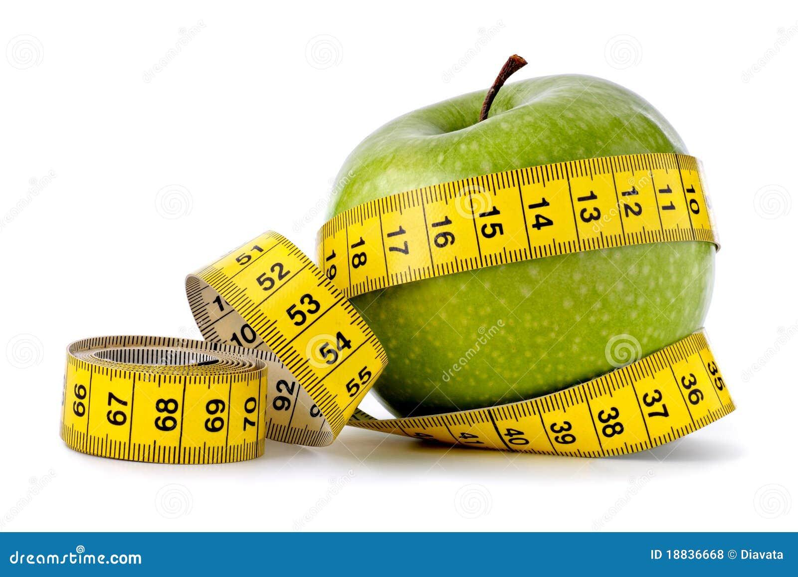 Manzana verde para dieta