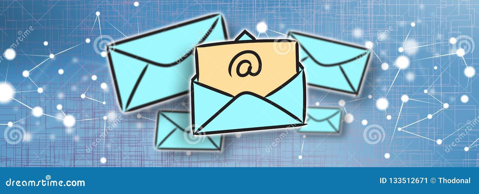 Concepto de email