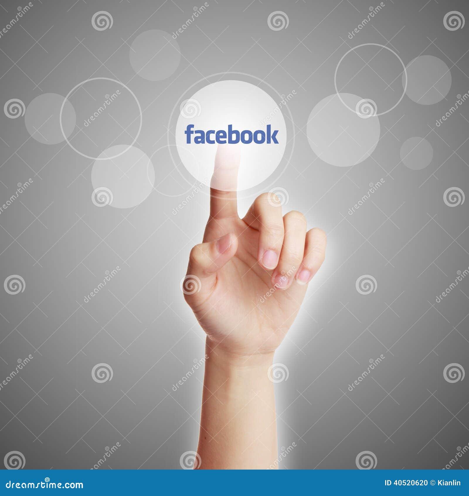 Concepto de Facebook