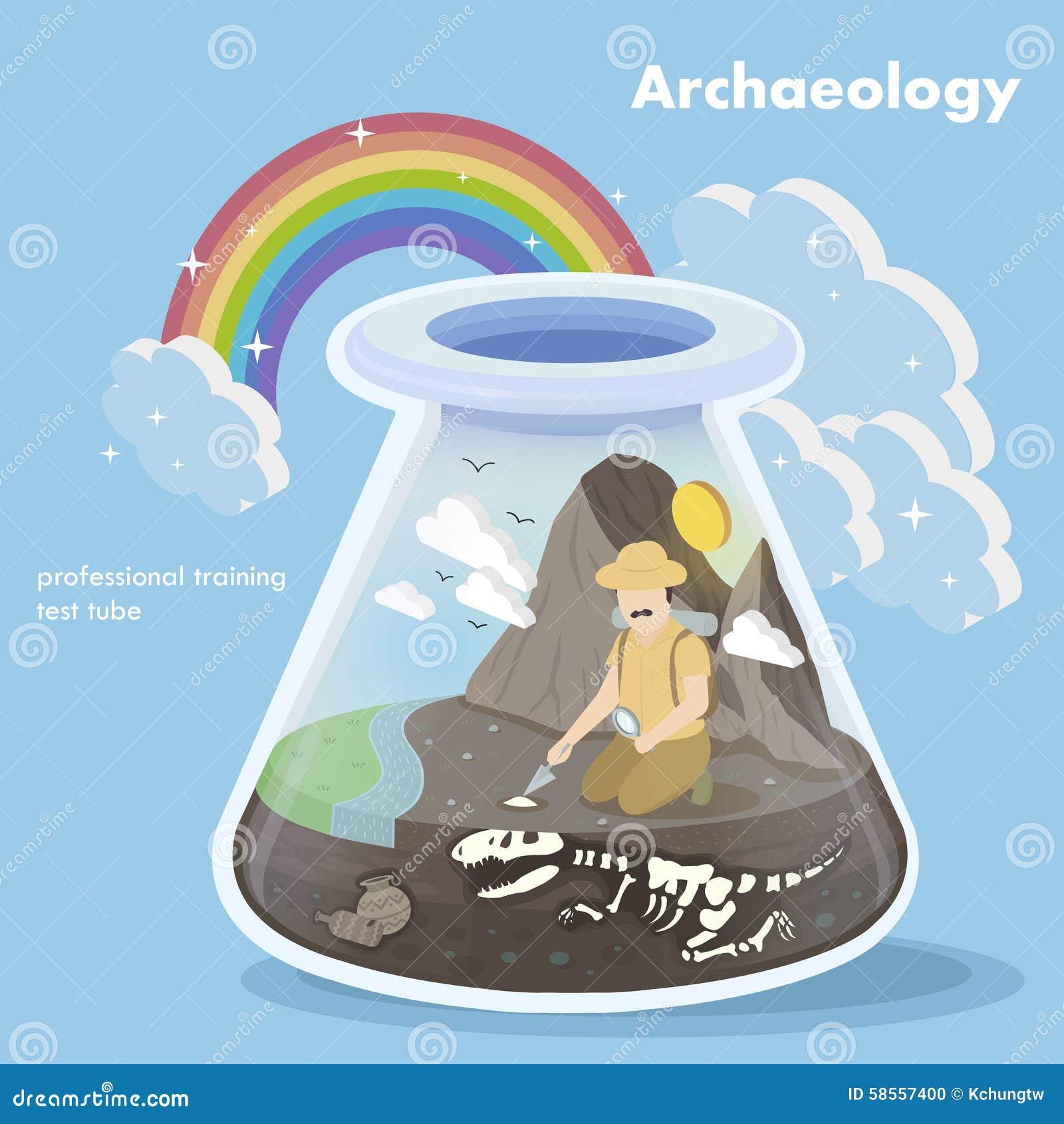 Concepto de la arqueología
