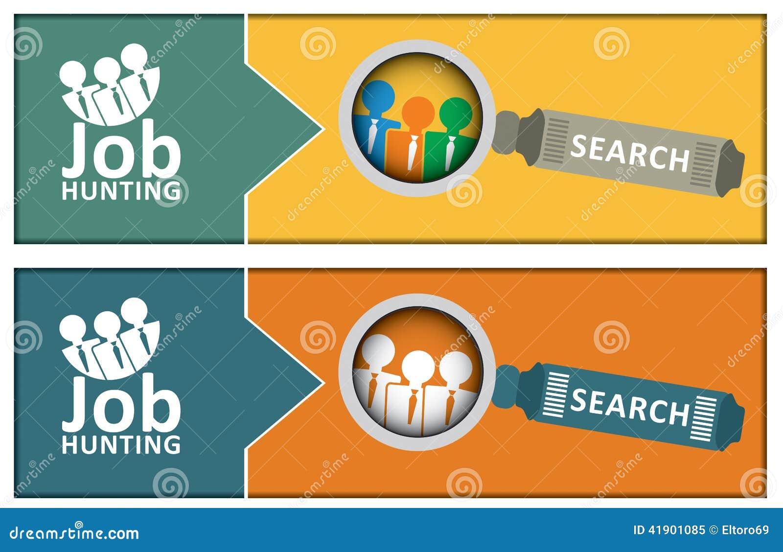 Concepto de la búsqueda de empleo