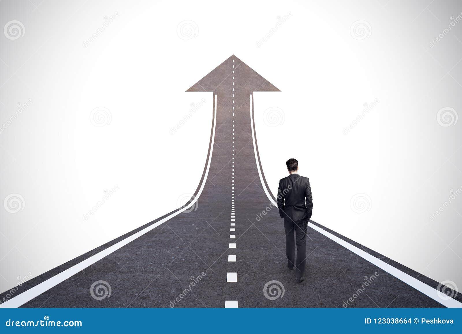 Concepto de la carrera y del crecimiento