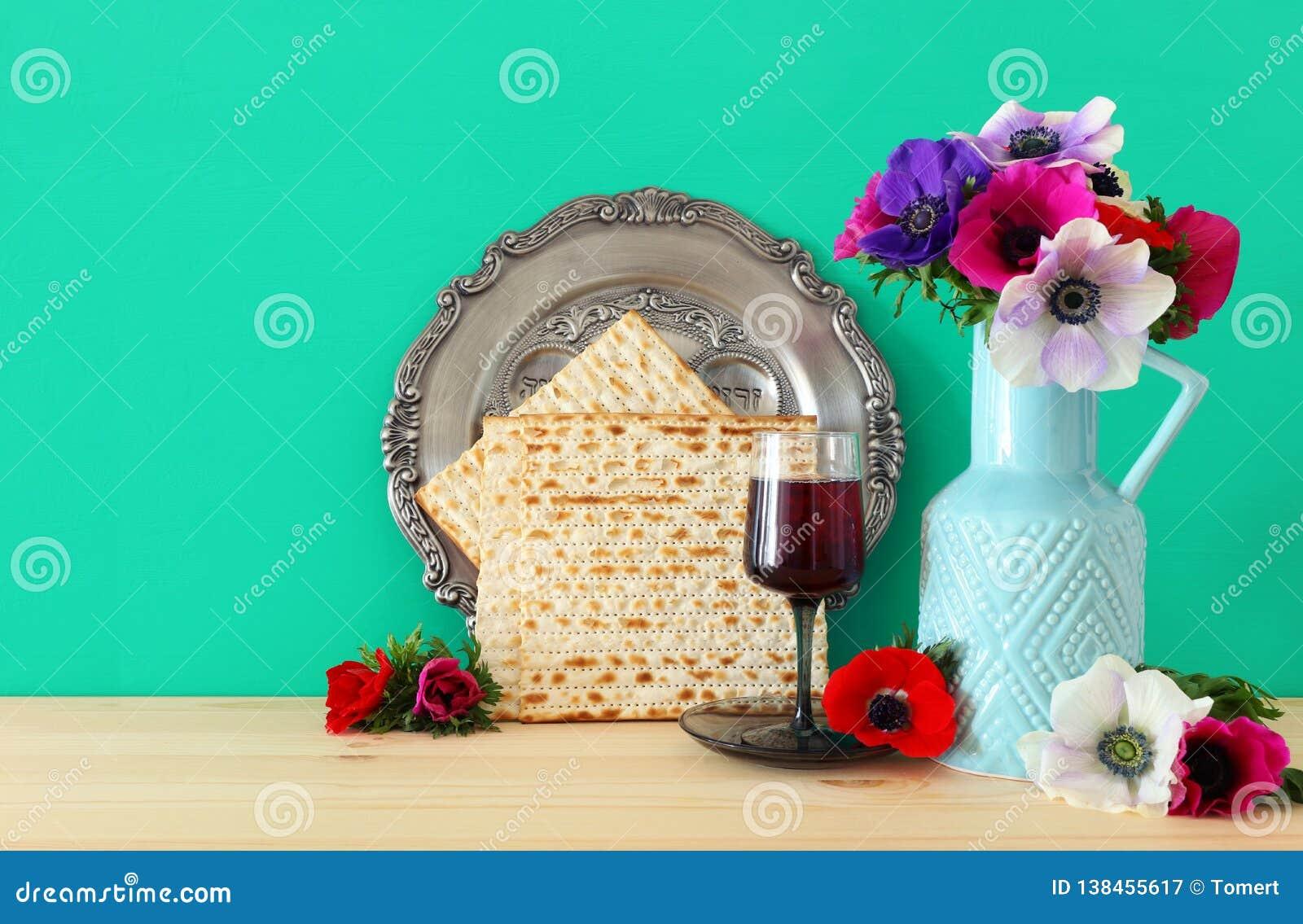 Concepto de la celebración de Pesah y x28; día de fiesta judío de la pascua judía