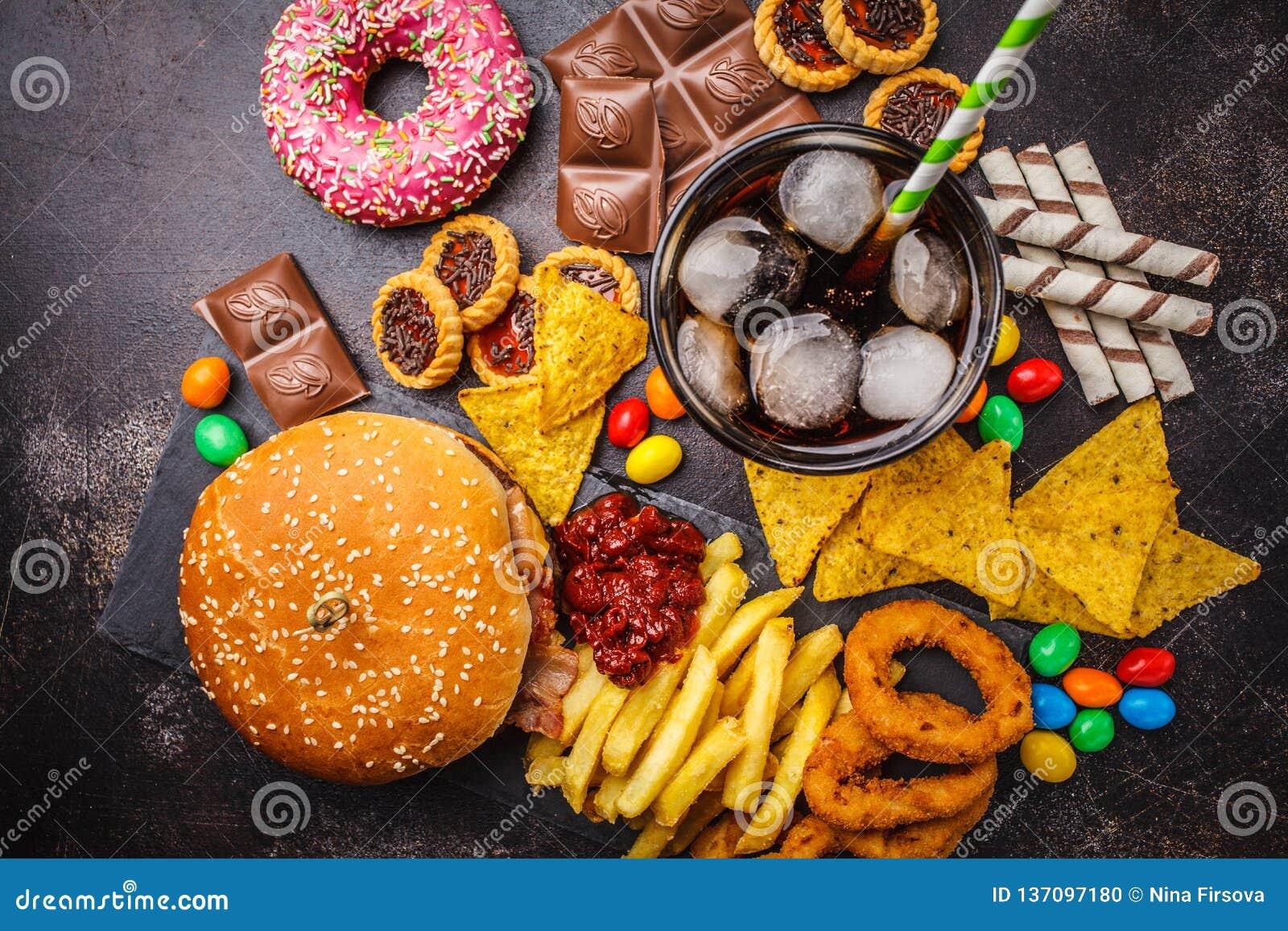 diabetes comida rápida