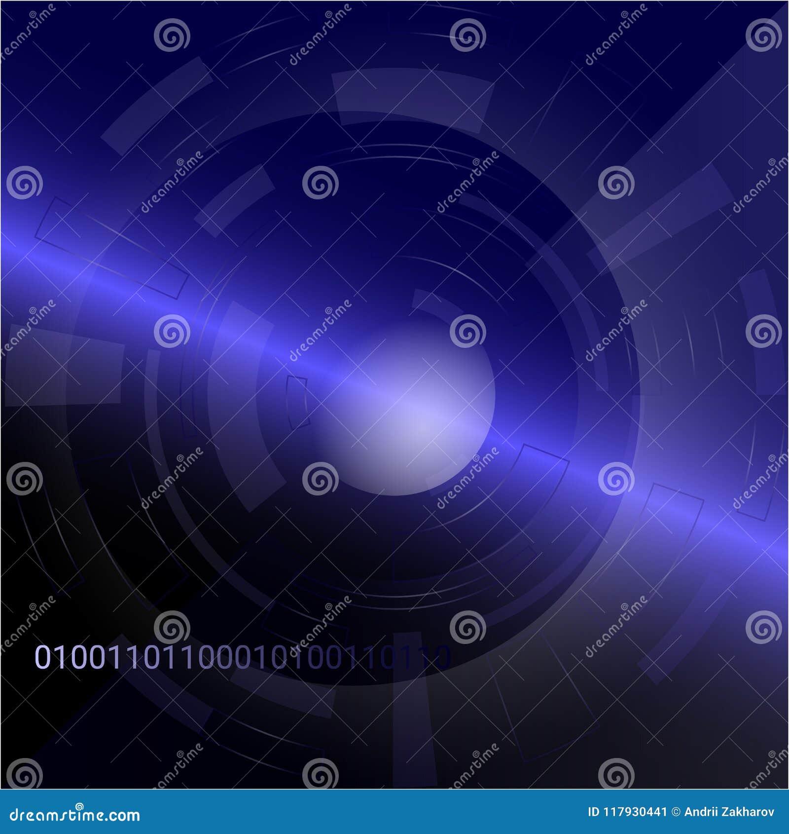 Concepto de la conexión de la tecnología del extracto del fondo del vector