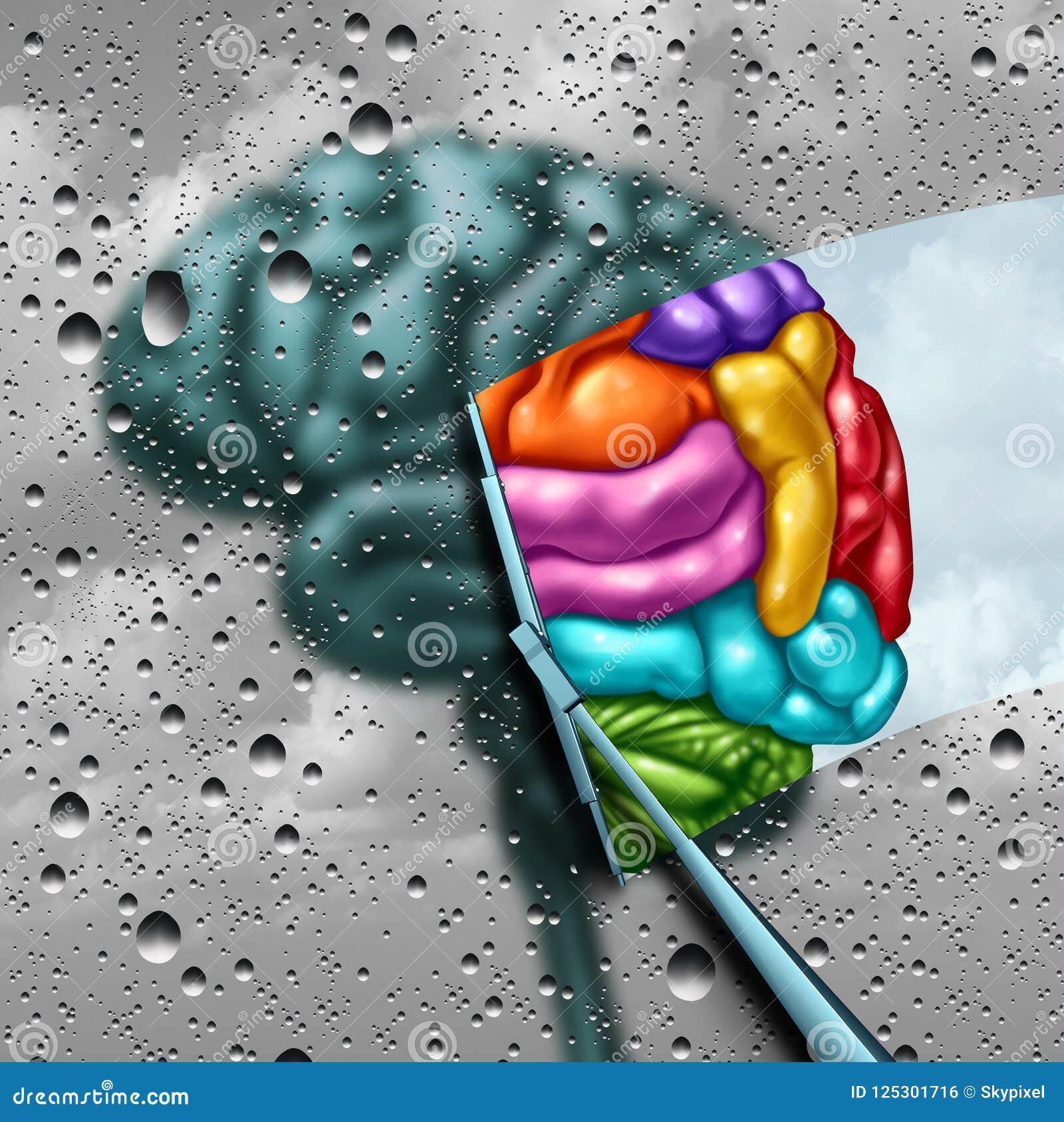 Concepto de la creatividad del cerebro