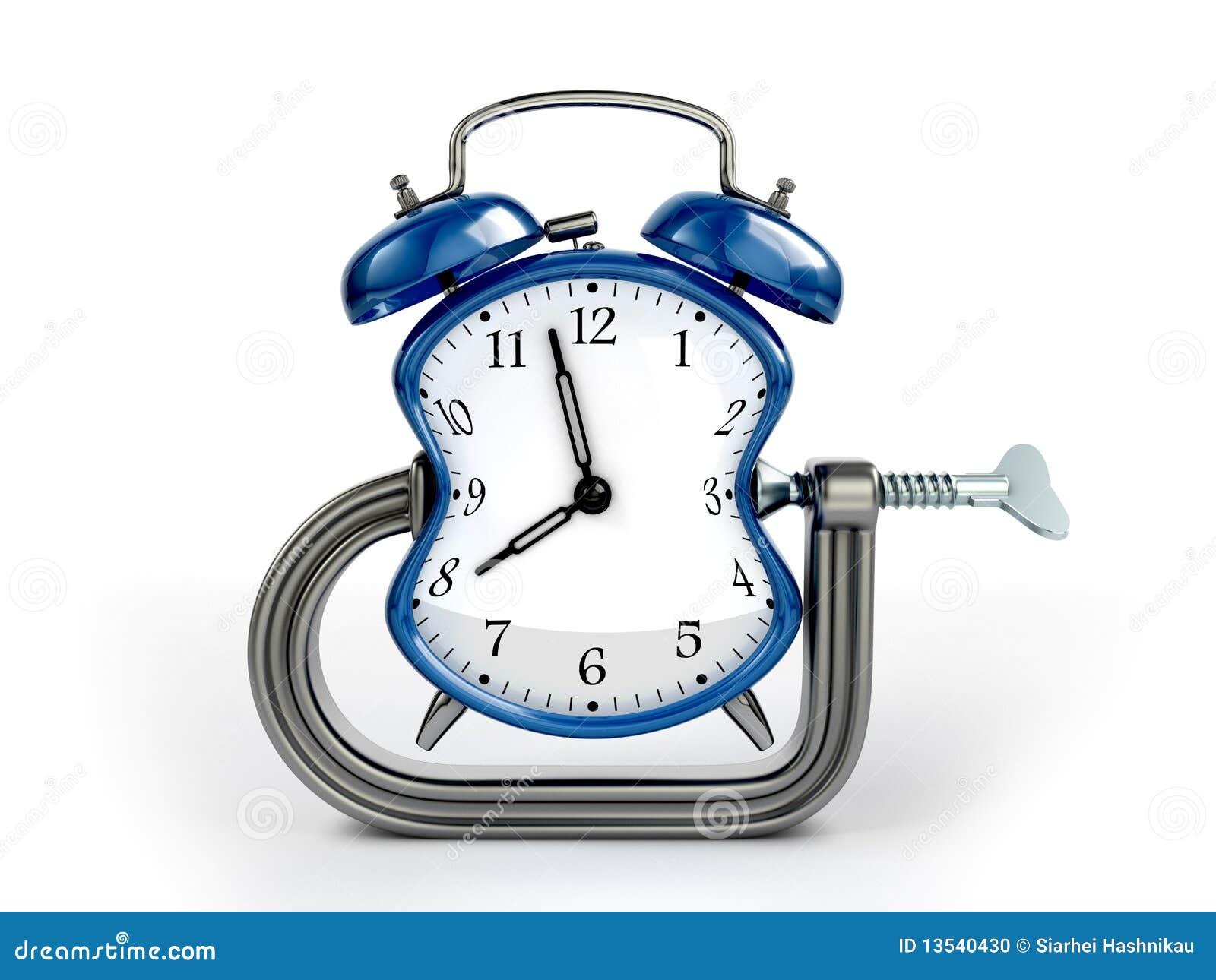 Concepto de la deformación de tiempo