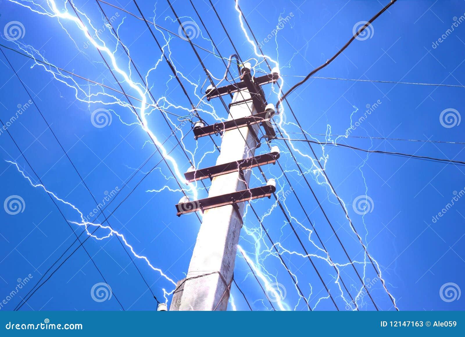 Concepto de la electricidad fotos de archivo imagen for Electricidad