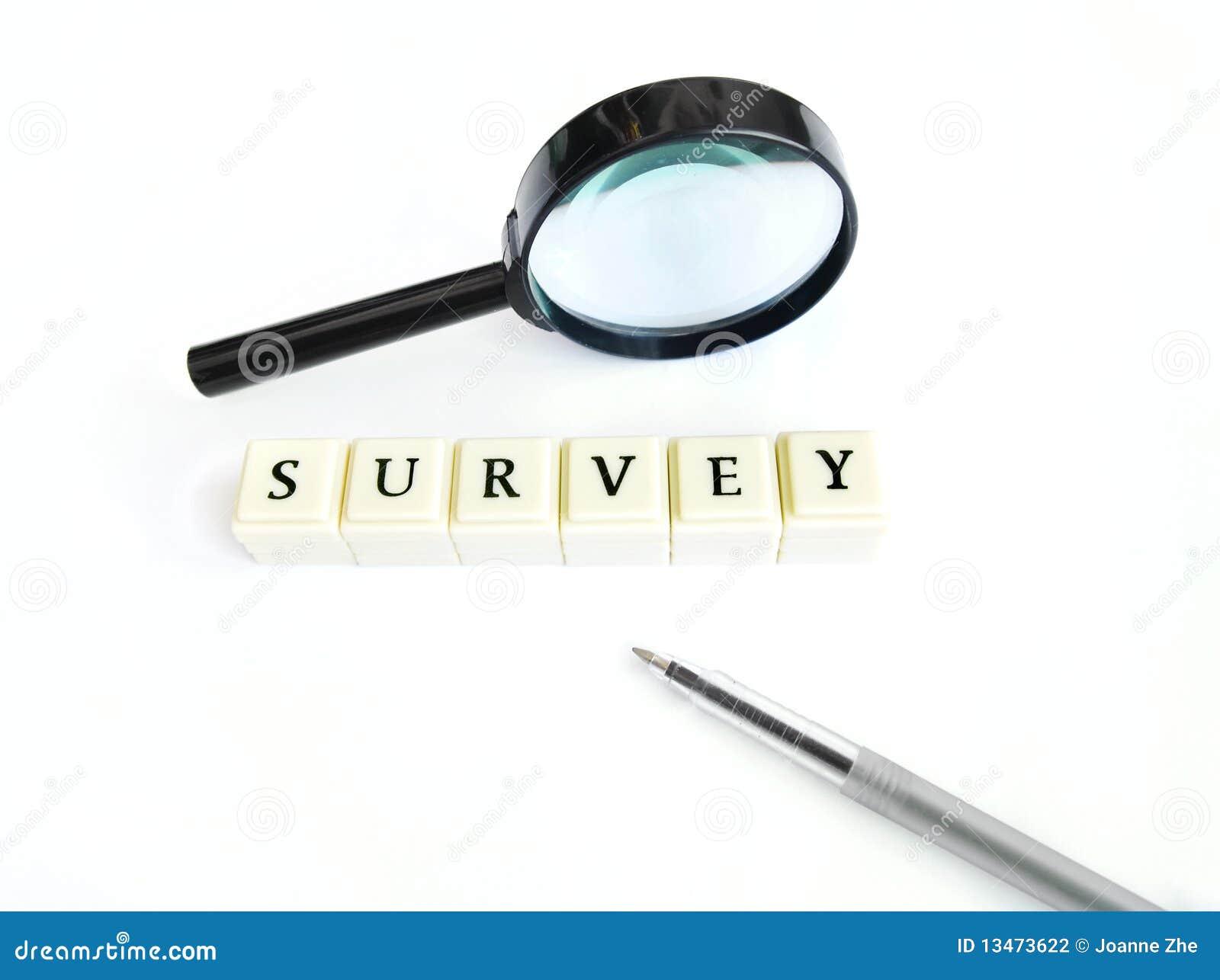 Concepto de la encuesta