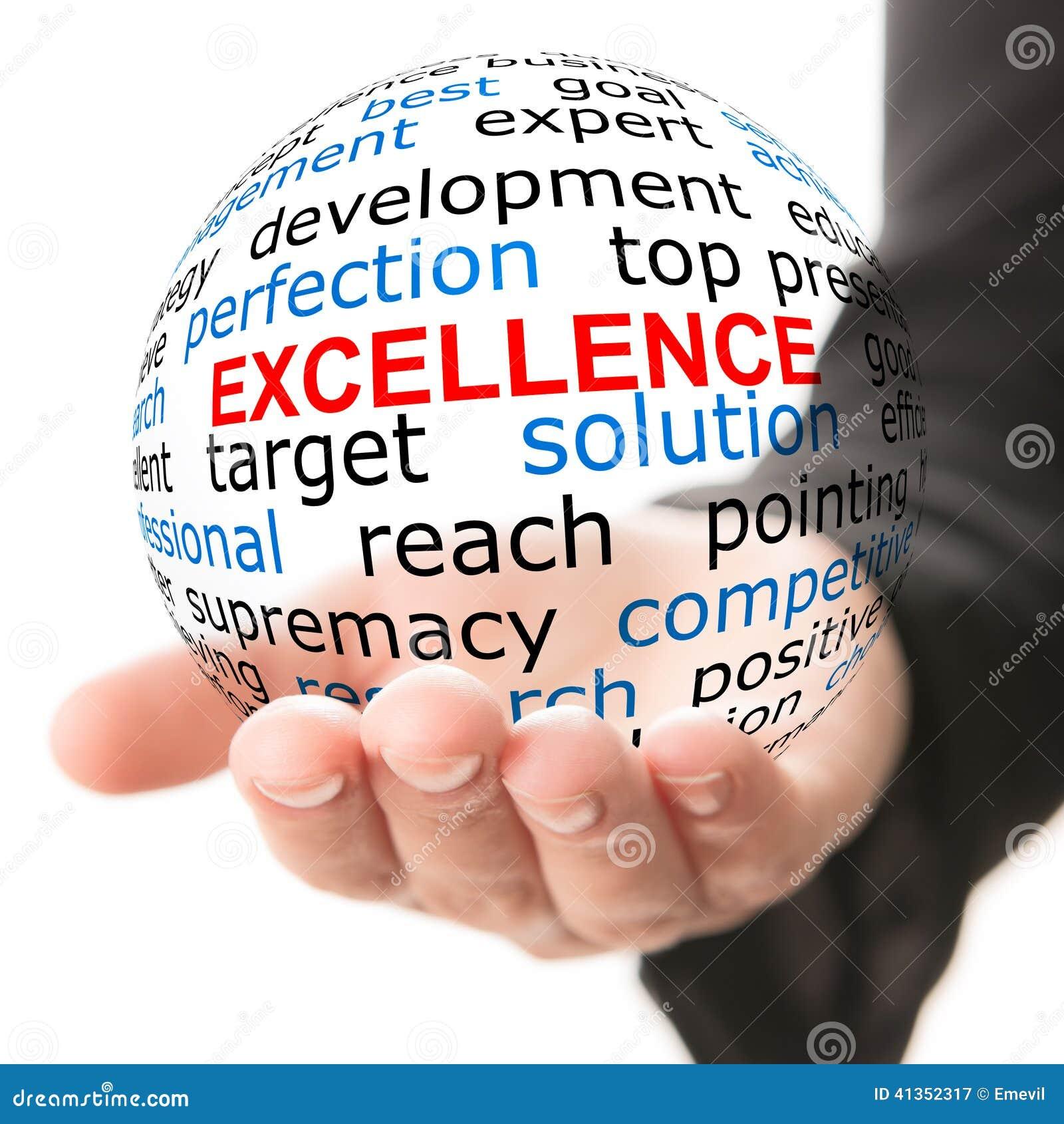 Concepto de la excelencia