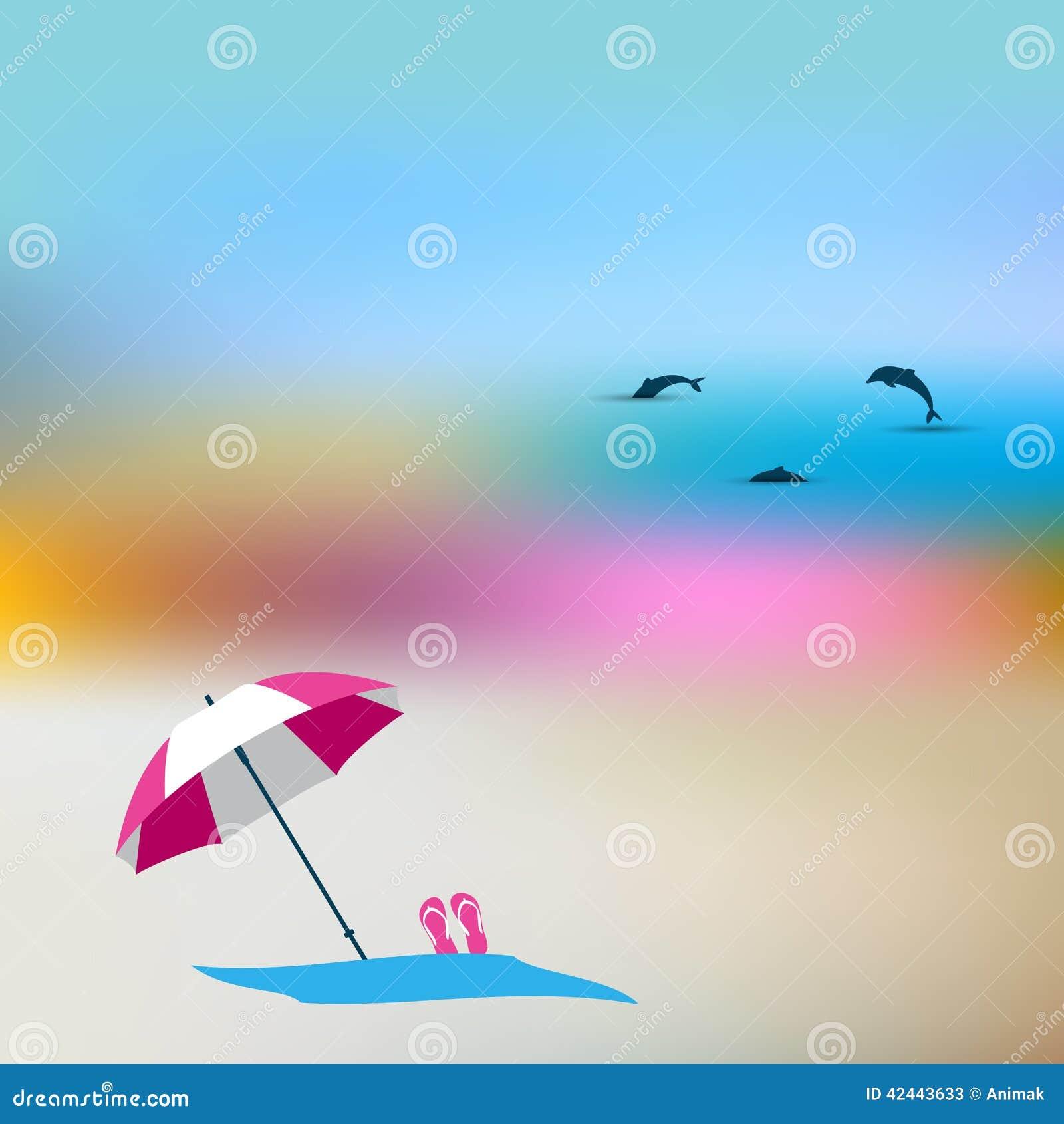 Concepto de la falta de definición del verano