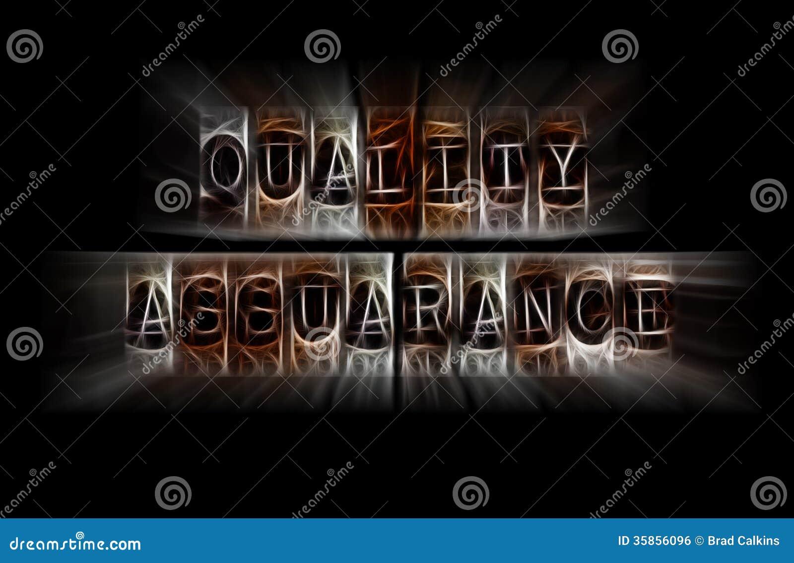 Concepto de la garantía de calidad