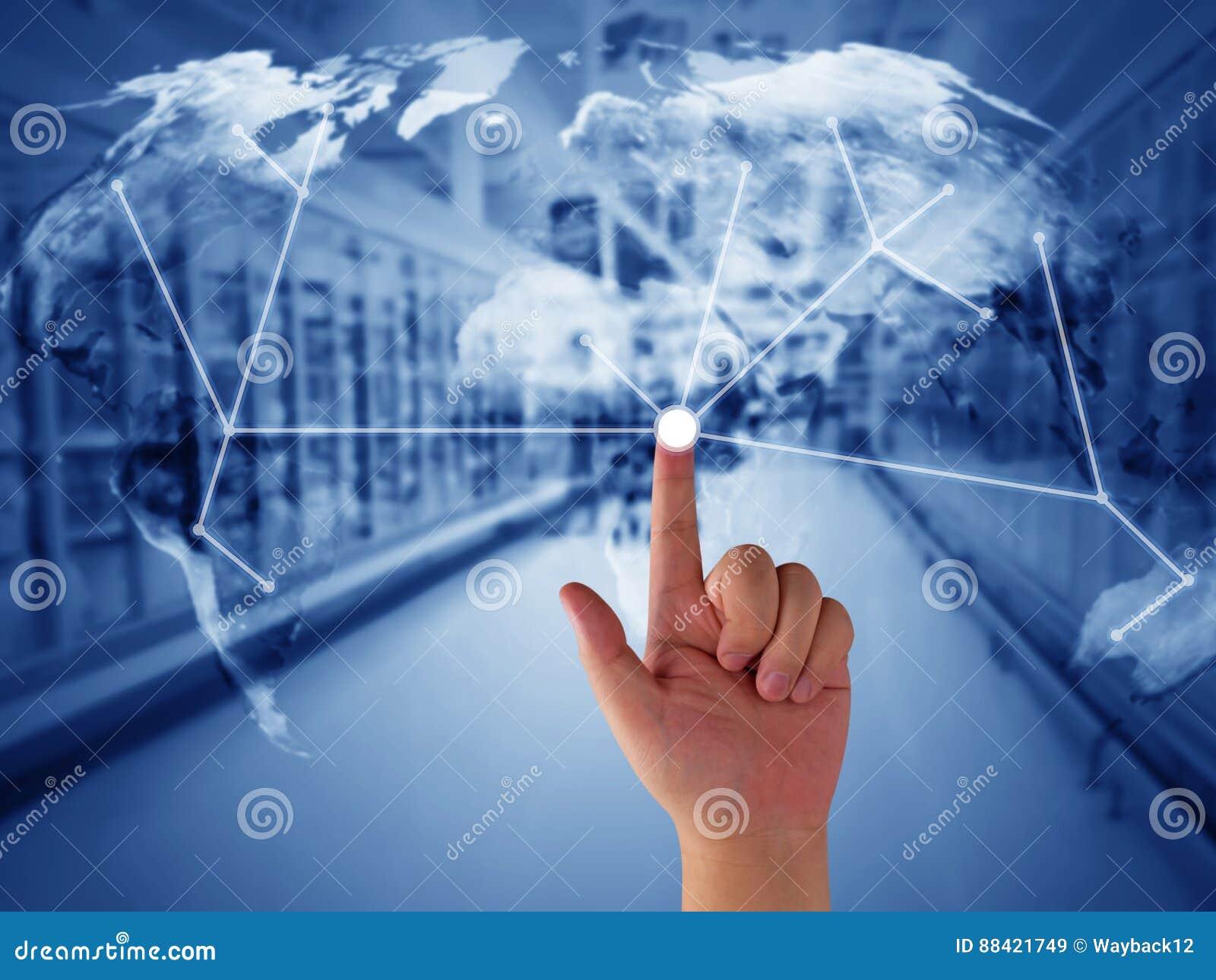 Concepto de la gestión de la cadena de suministro