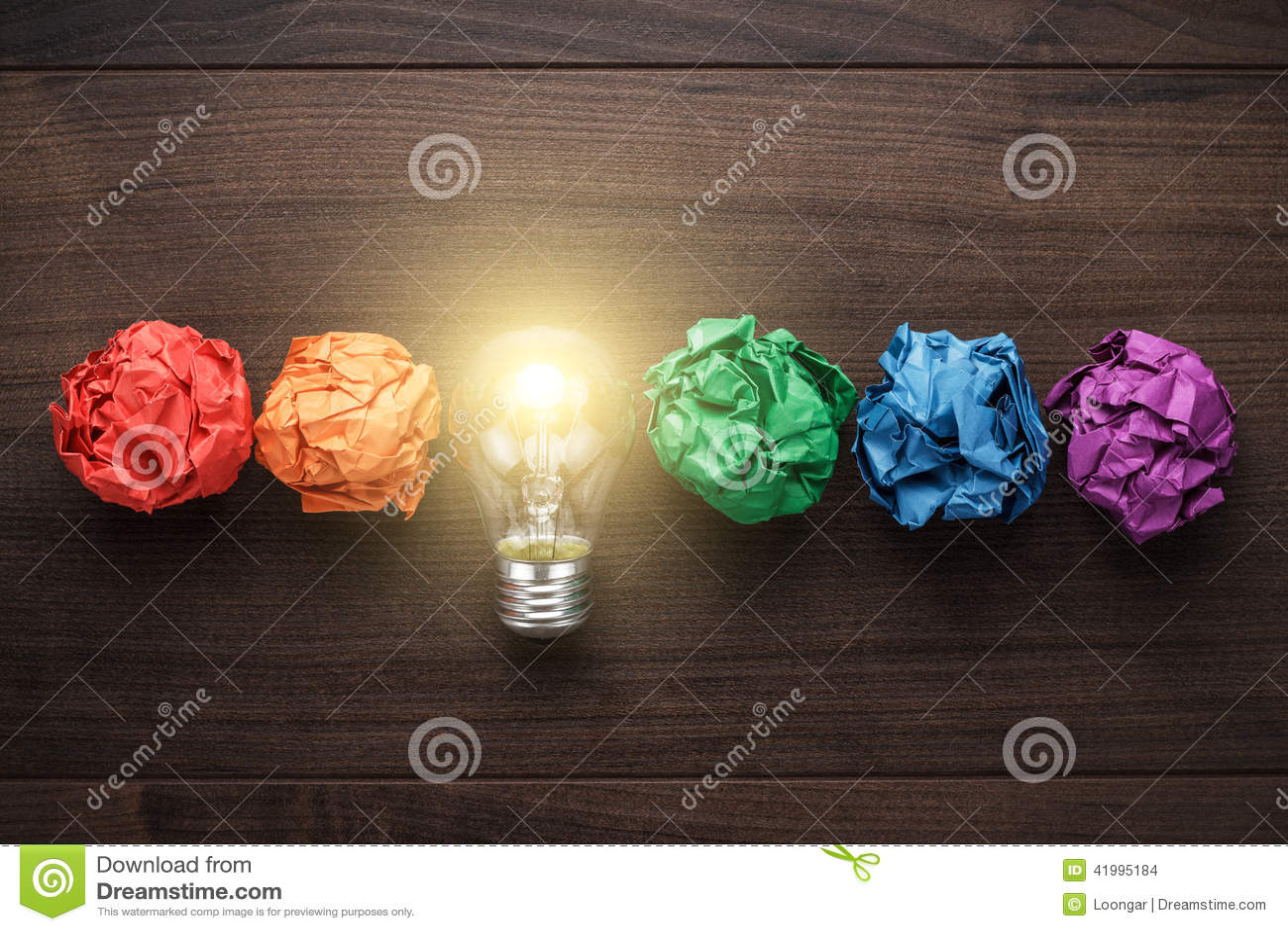 Concepto de la gran idea