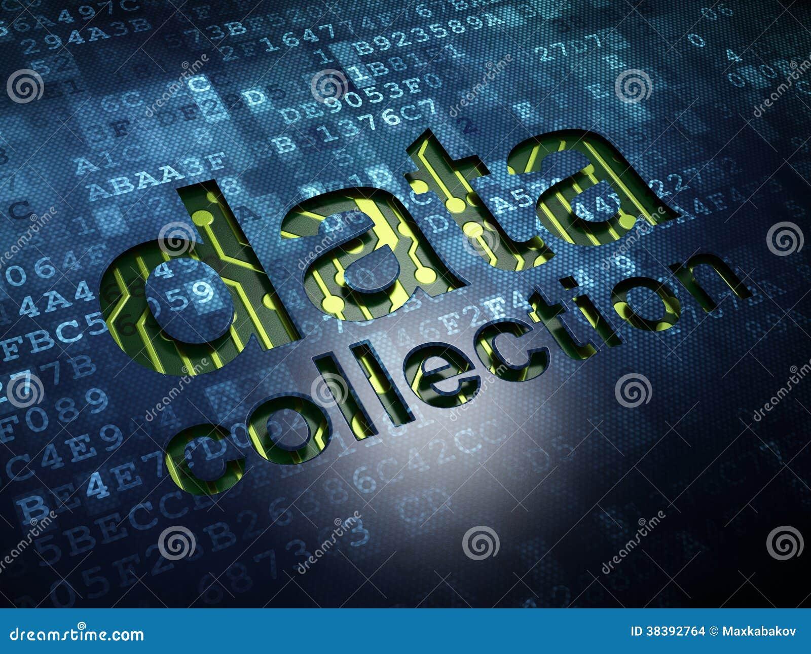Concepto de la información: Recopilación de datos en digital