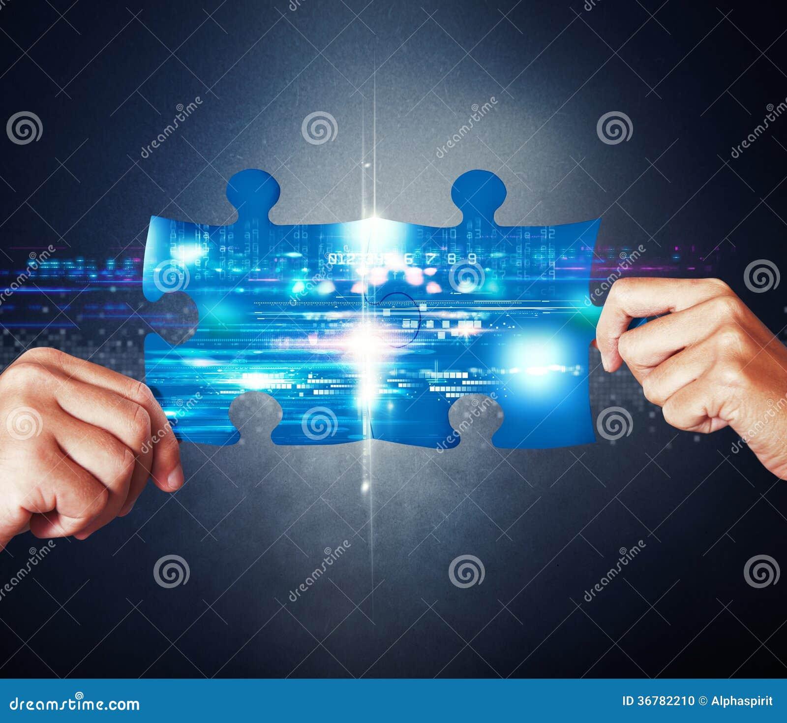 Concepto de la integración de sistema