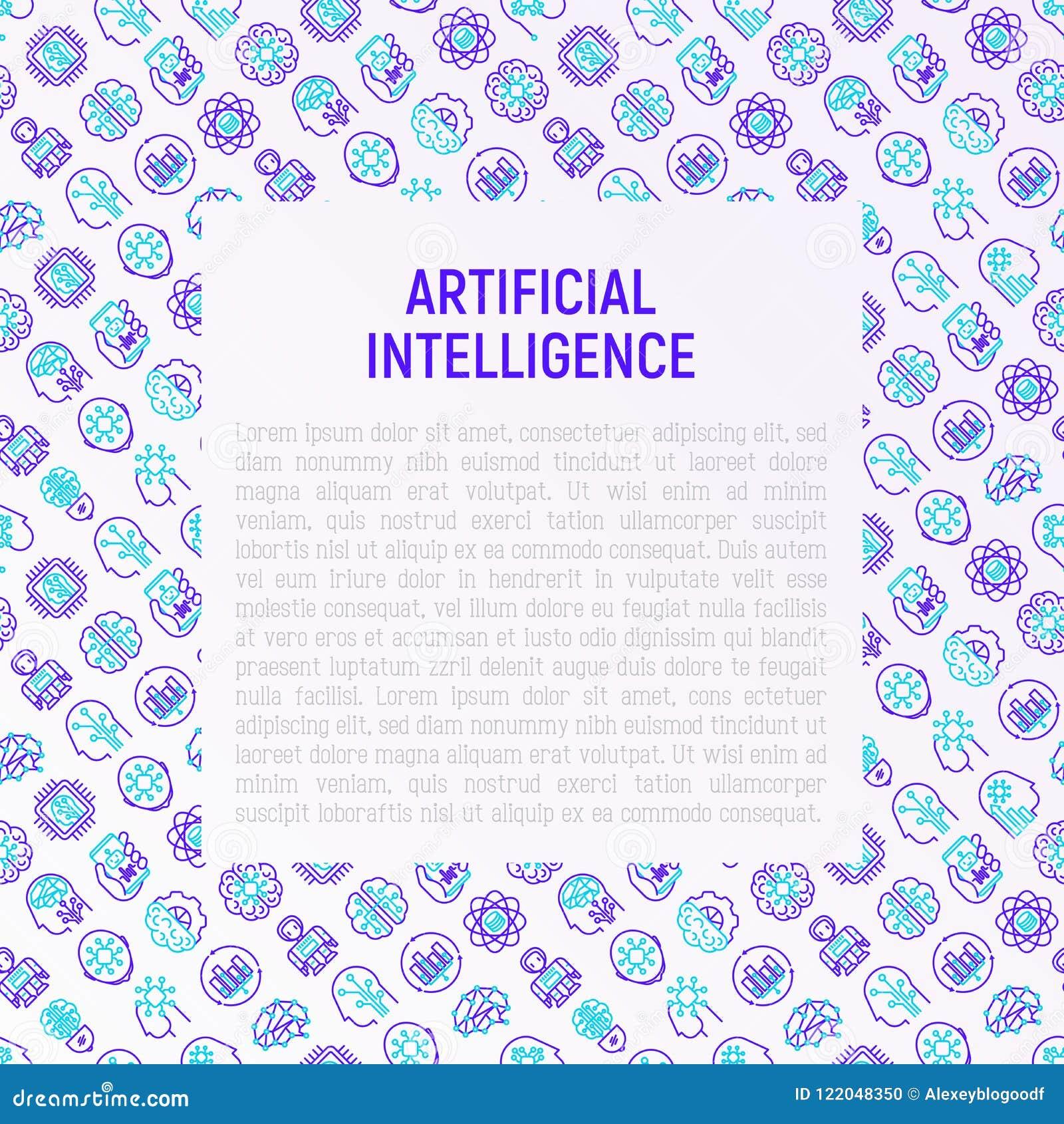 Concepto de la inteligencia artificial