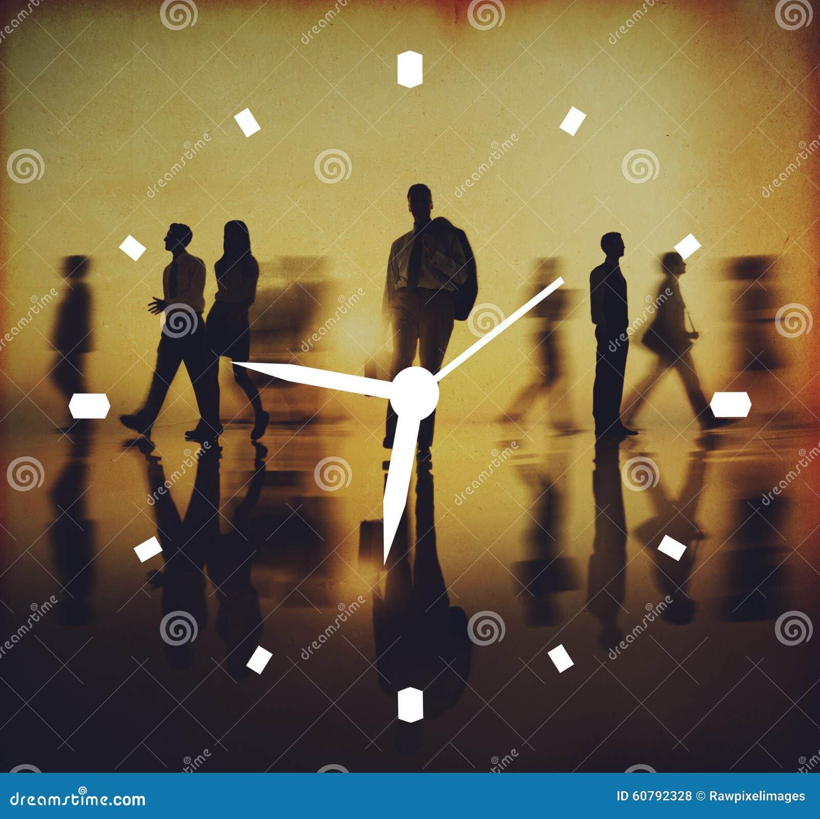 Concepto de la medida de la alarma del reloj de la gestión de tiempo
