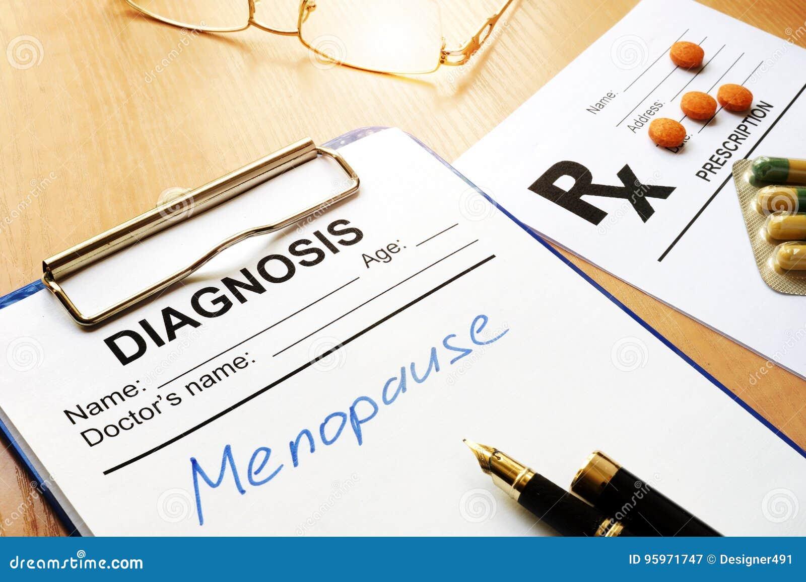 Concepto de la menopausia