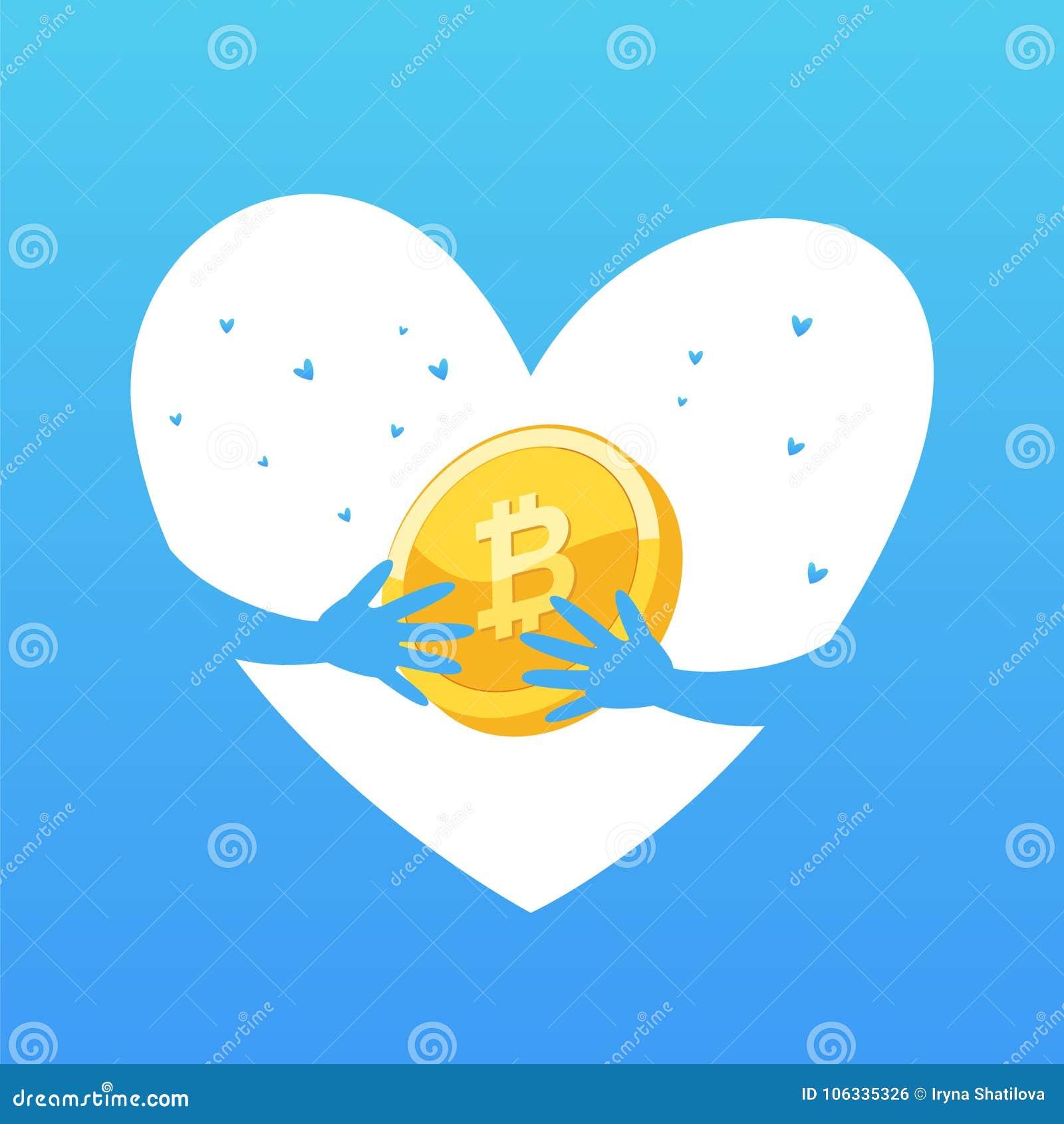Concepto de la moneda Tecnología de la explotación minera o del blockchain para el cryptocurrency