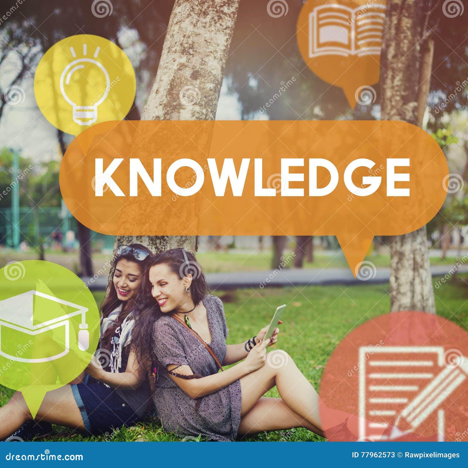 Concepto de la penetración de la carrera de la educación del poder del conocimiento