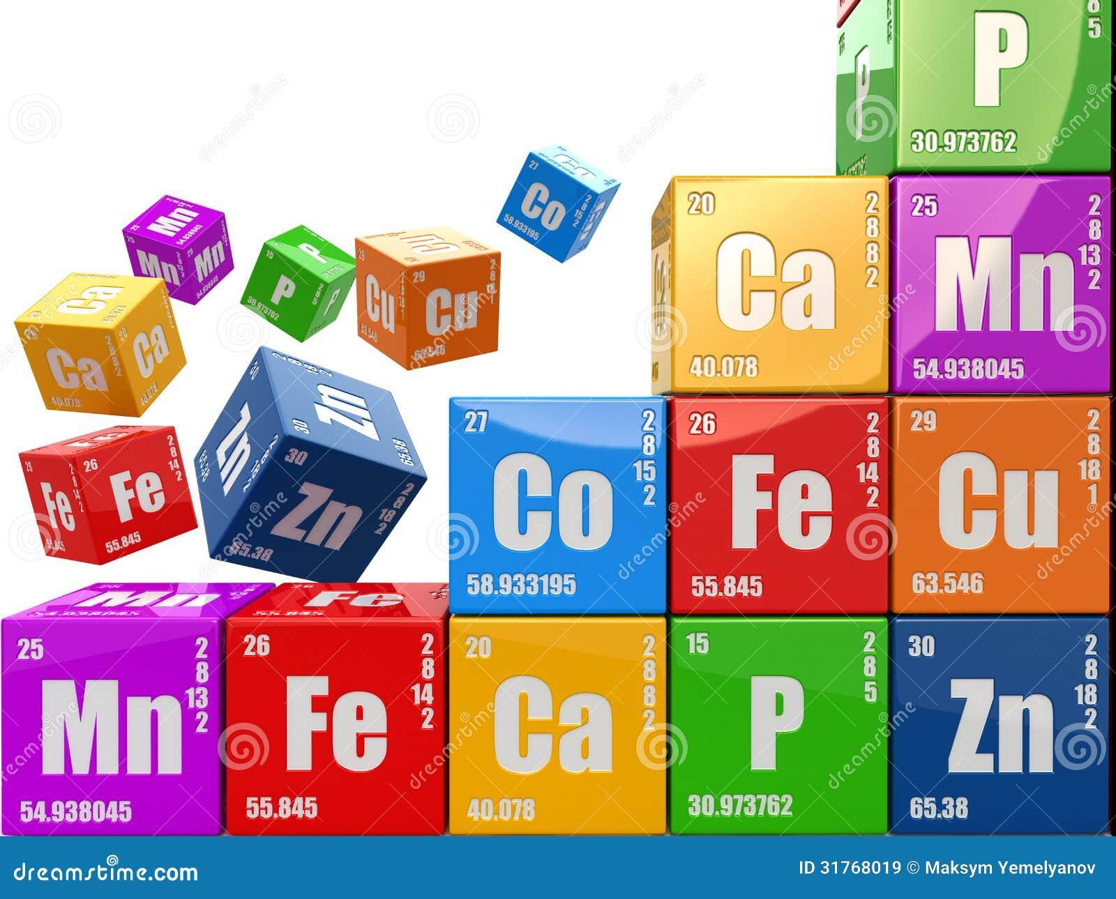 Concepto de la qumica emparede de la tabla peridica del wiyh de concepto de la qumica emparede de la tabla peridica del wiyh de los cubos de elemen urtaz Choice Image