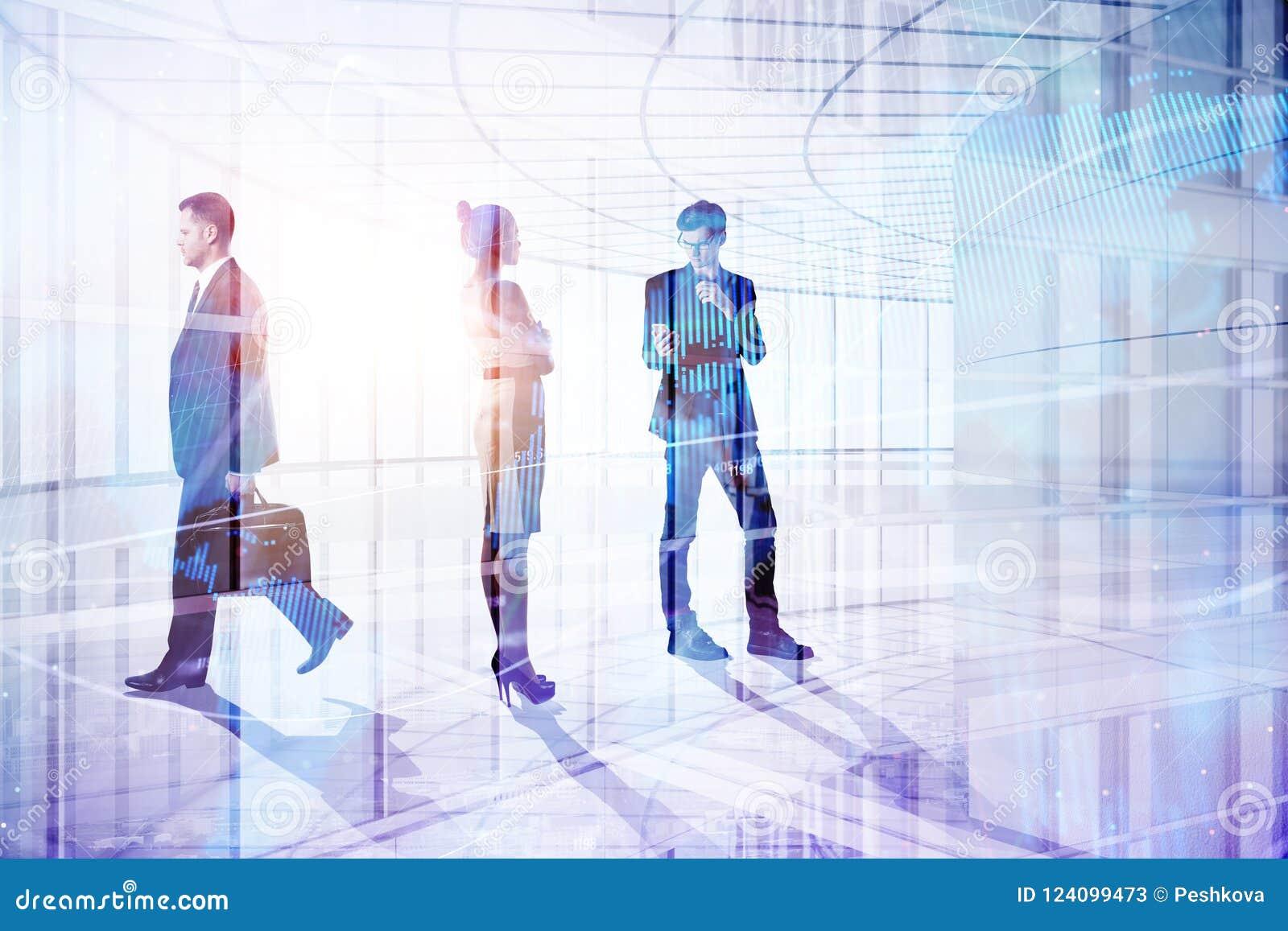 Concepto de la reunión y de trabajo