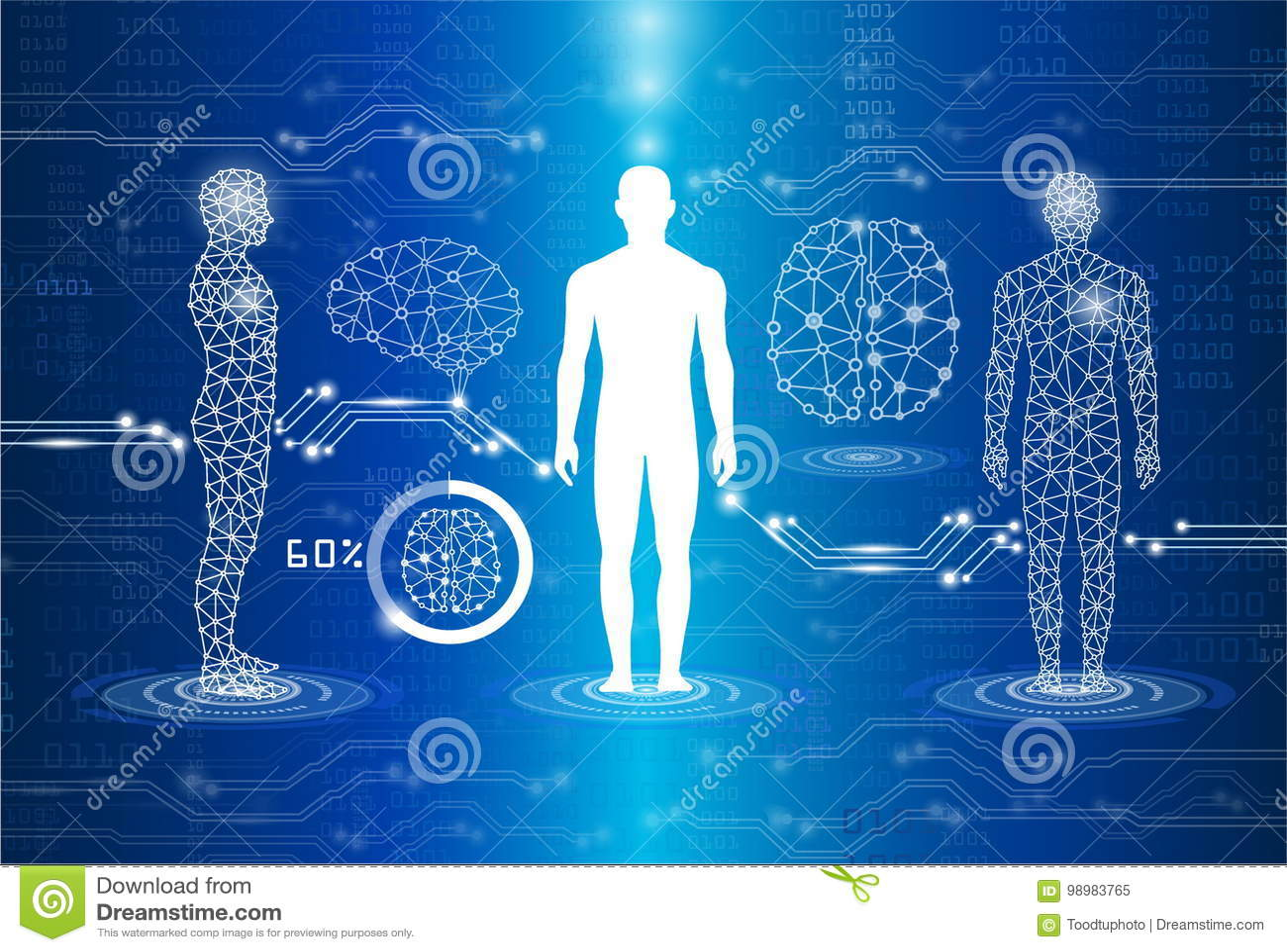Concepto de la tecnología y de la ciencia, tecnología experimental y medi