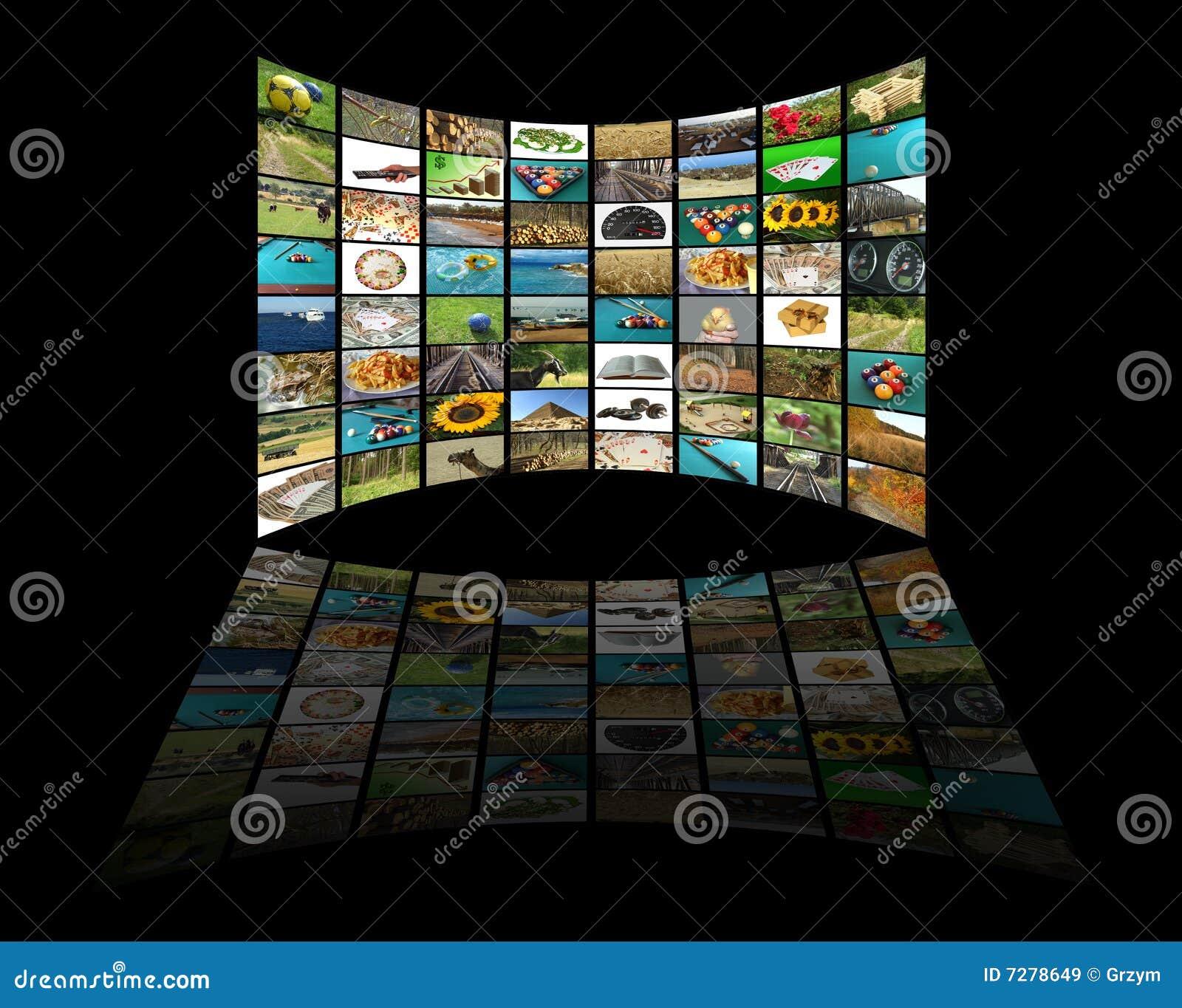 Concepto de la televisión
