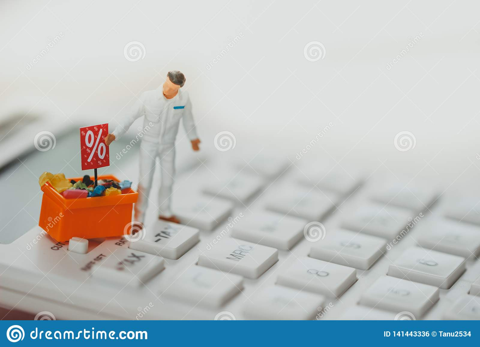 Concepto de las compras y del comercio electrónico