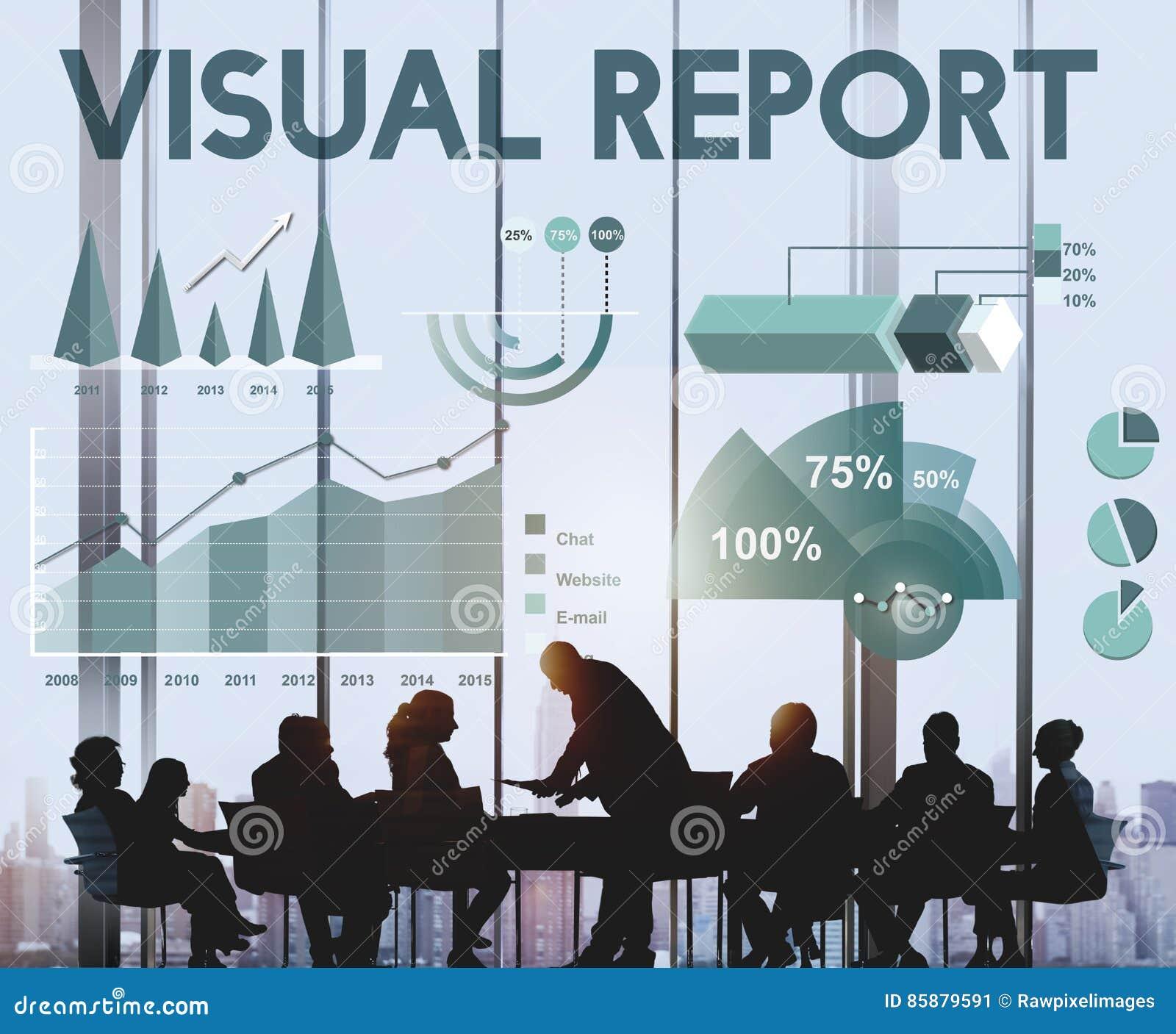 Concepto de las estadísticas del Analytics de los resultados del beneficio de negocio