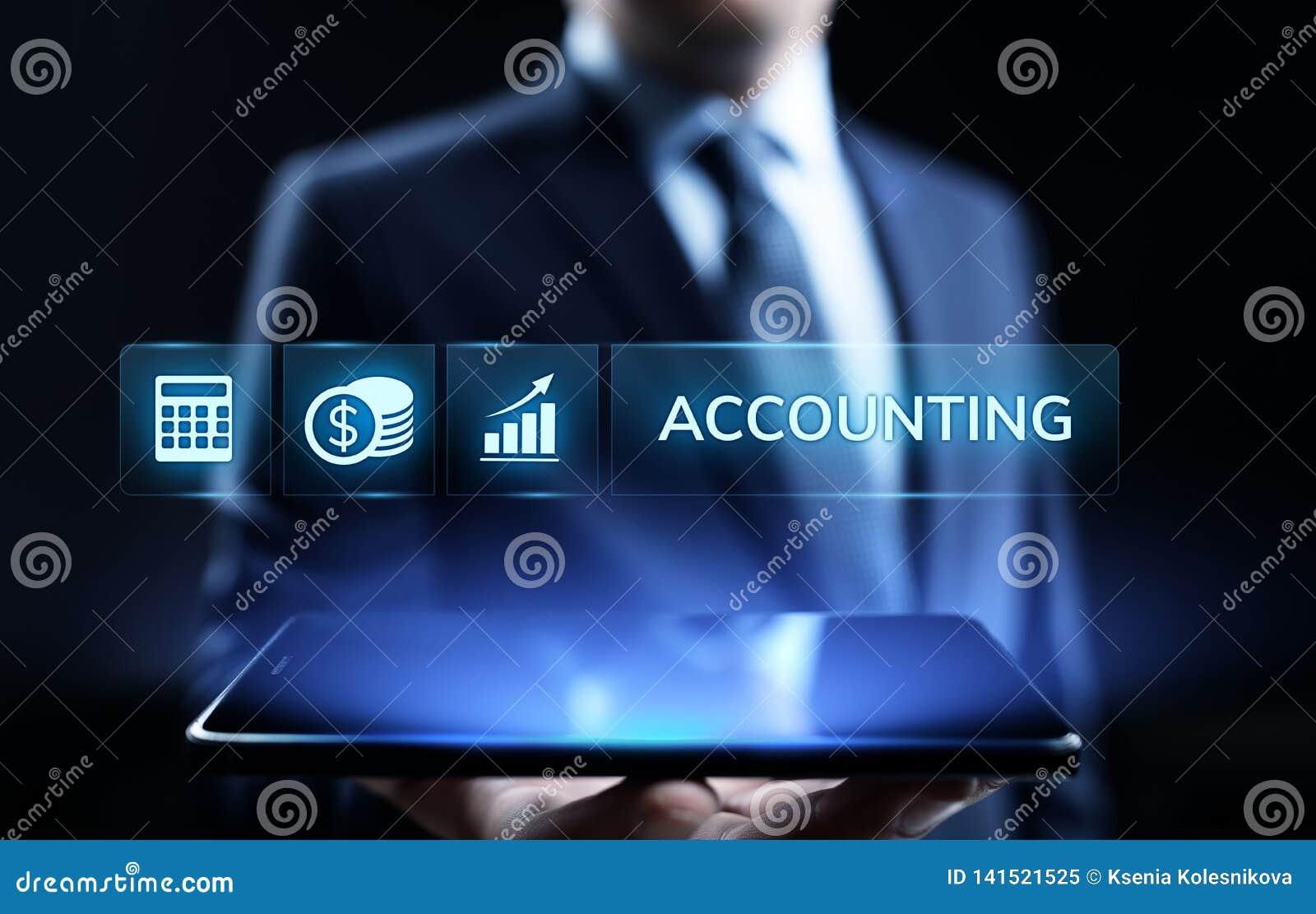 Concepto de las finanzas del negocio del cálculo de las actividades bancarias de la contabilidad que considera