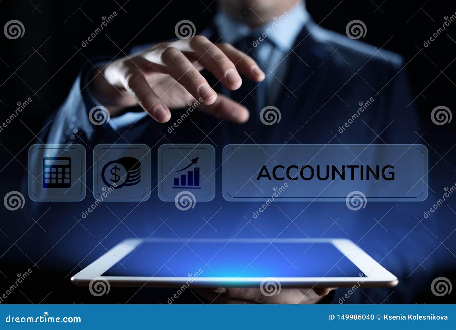Concepto de las finanzas del negocio del c?lculo de las actividades bancarias de la contabilidad que considera