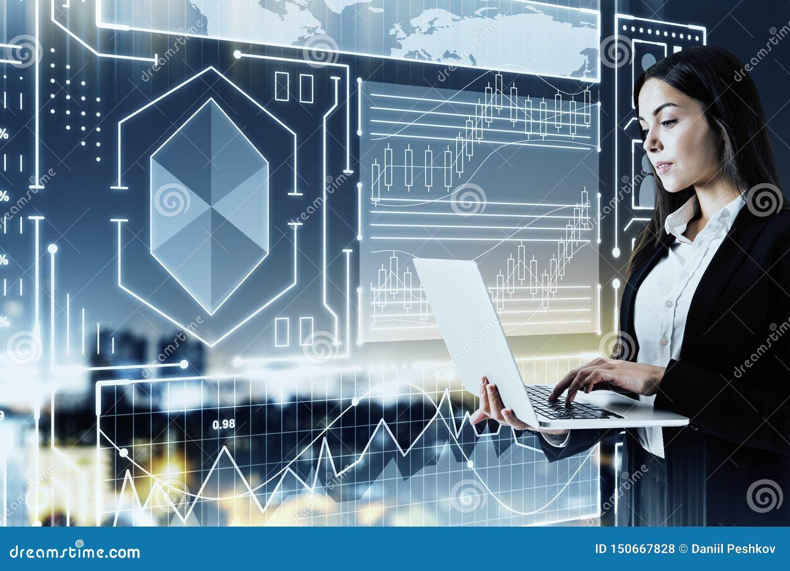 Concepto de las finanzas y de la tecnolog?a